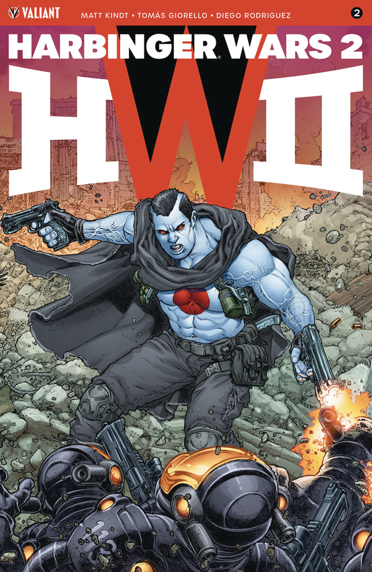 HARBINGER WARS 2 #2 (OF 4) CVR C 20 COPY INCV INTERLOCKING V