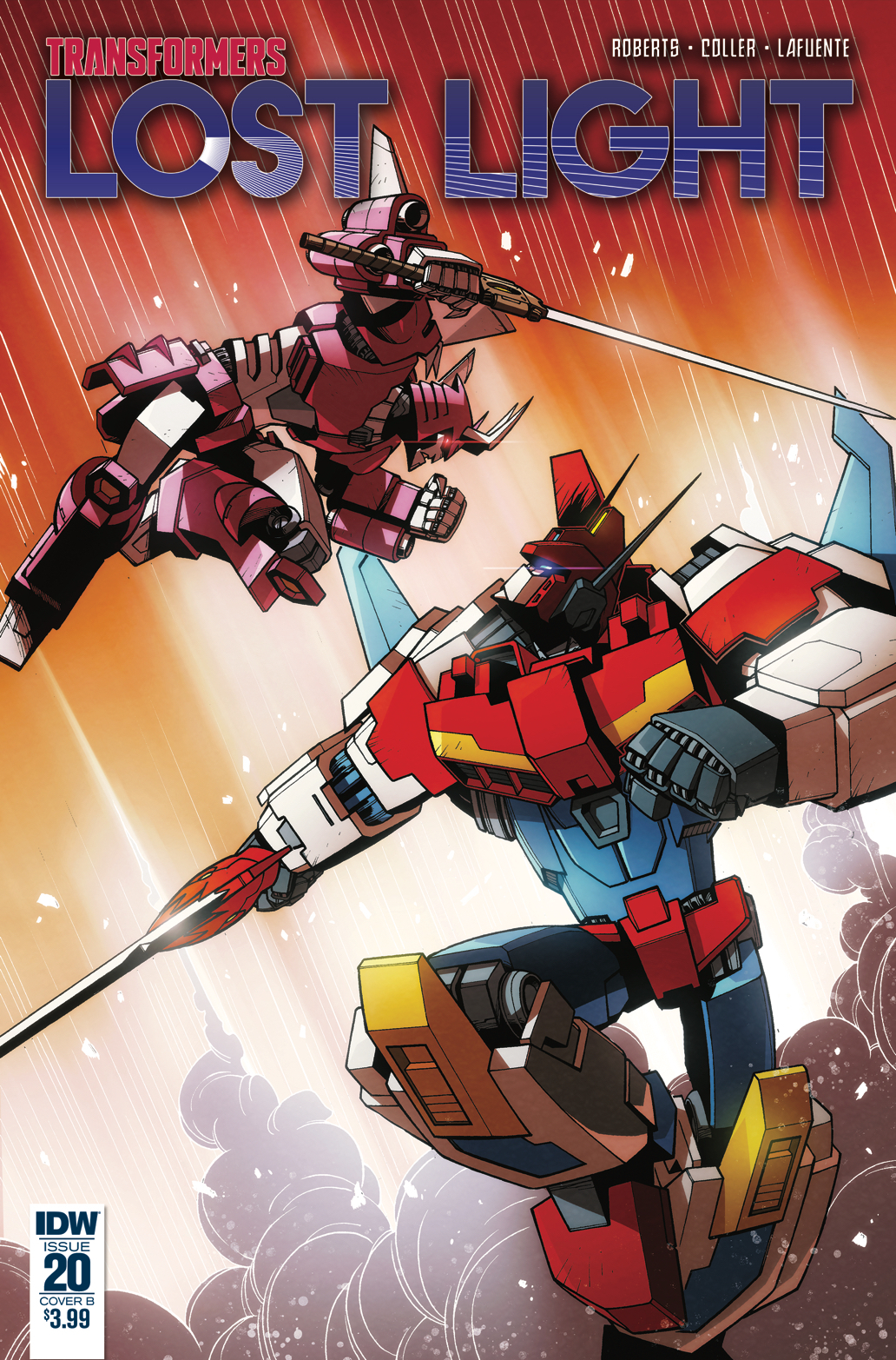 TRANSFORMERS LOST LIGHT #20 CVR B LAWRENCE