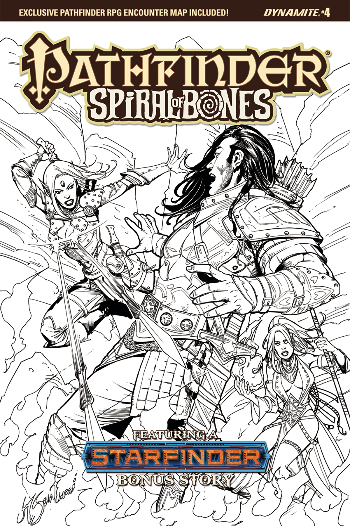 PATHFINDER SPIRAL OF BONES #4 (OF 5) CVR E 20 COPY SANTUCCI