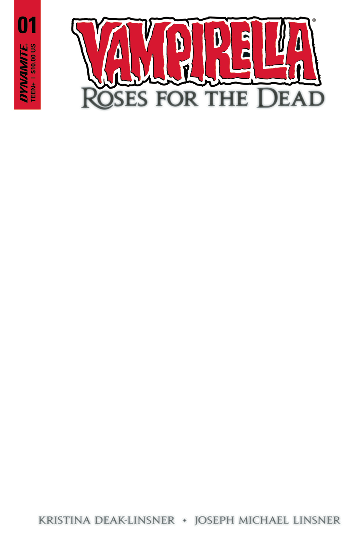 VAMPIRELLA ROSES FOR DEAD #1 (OF 5) BLANK AUTHENTIX (MR)