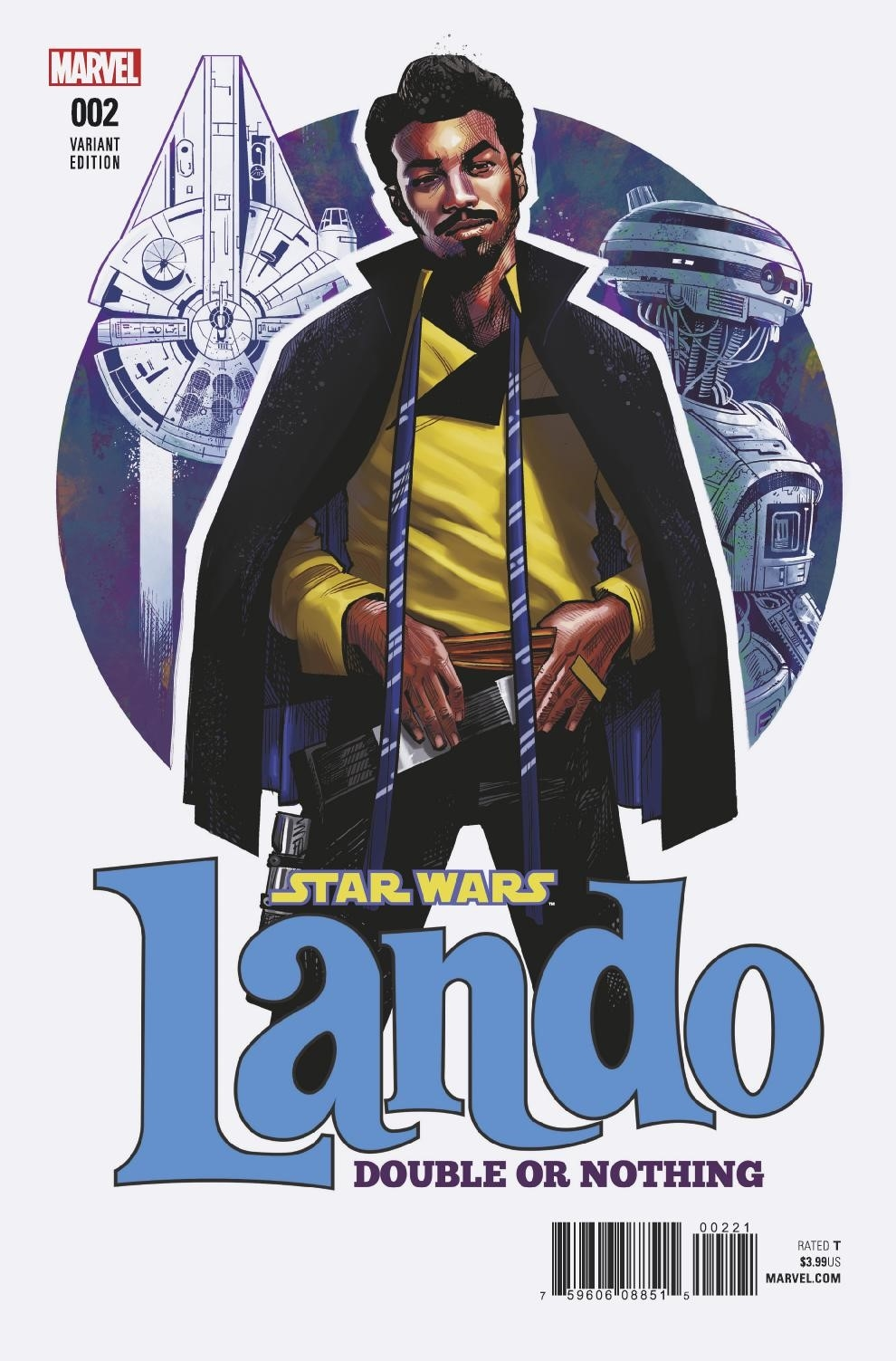 STAR WARS LANDO DOUBLE OR NOTHING #2 (OF 5) STEWART VAR