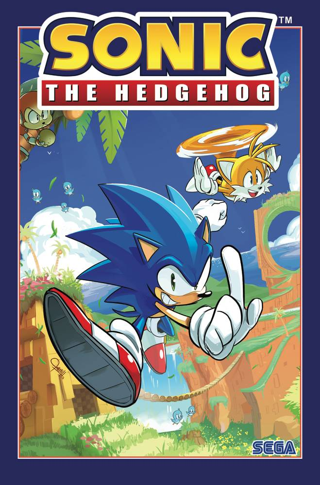 SONIC THE HEDGEHOG TP VOL 01 FALLOUT