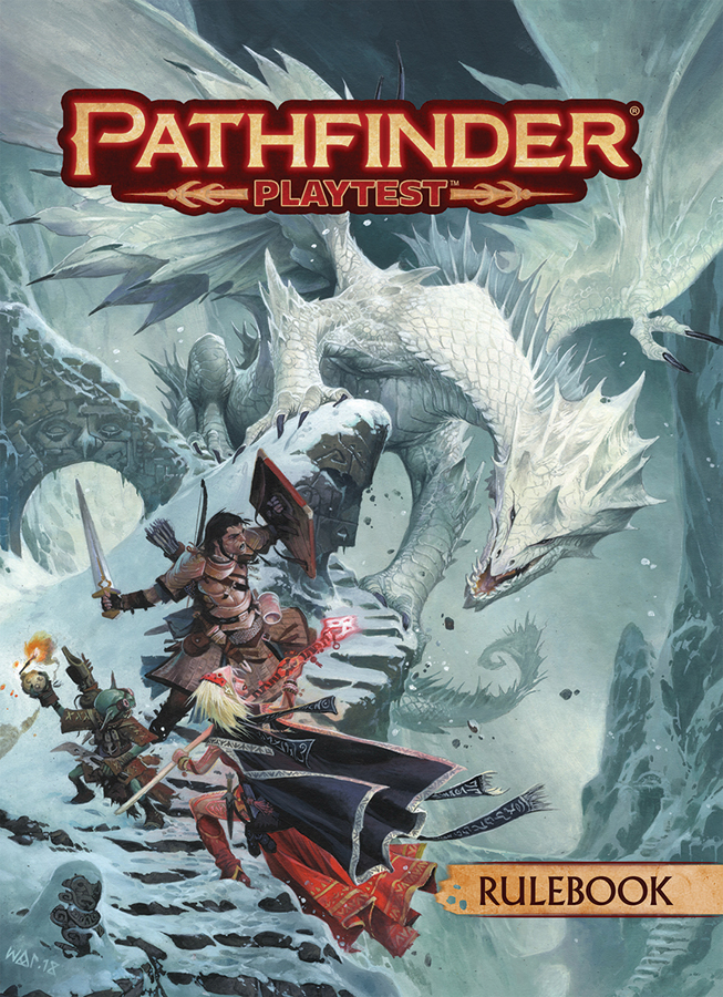 PATHFINDER PLAYTEST RULEBOOK SC