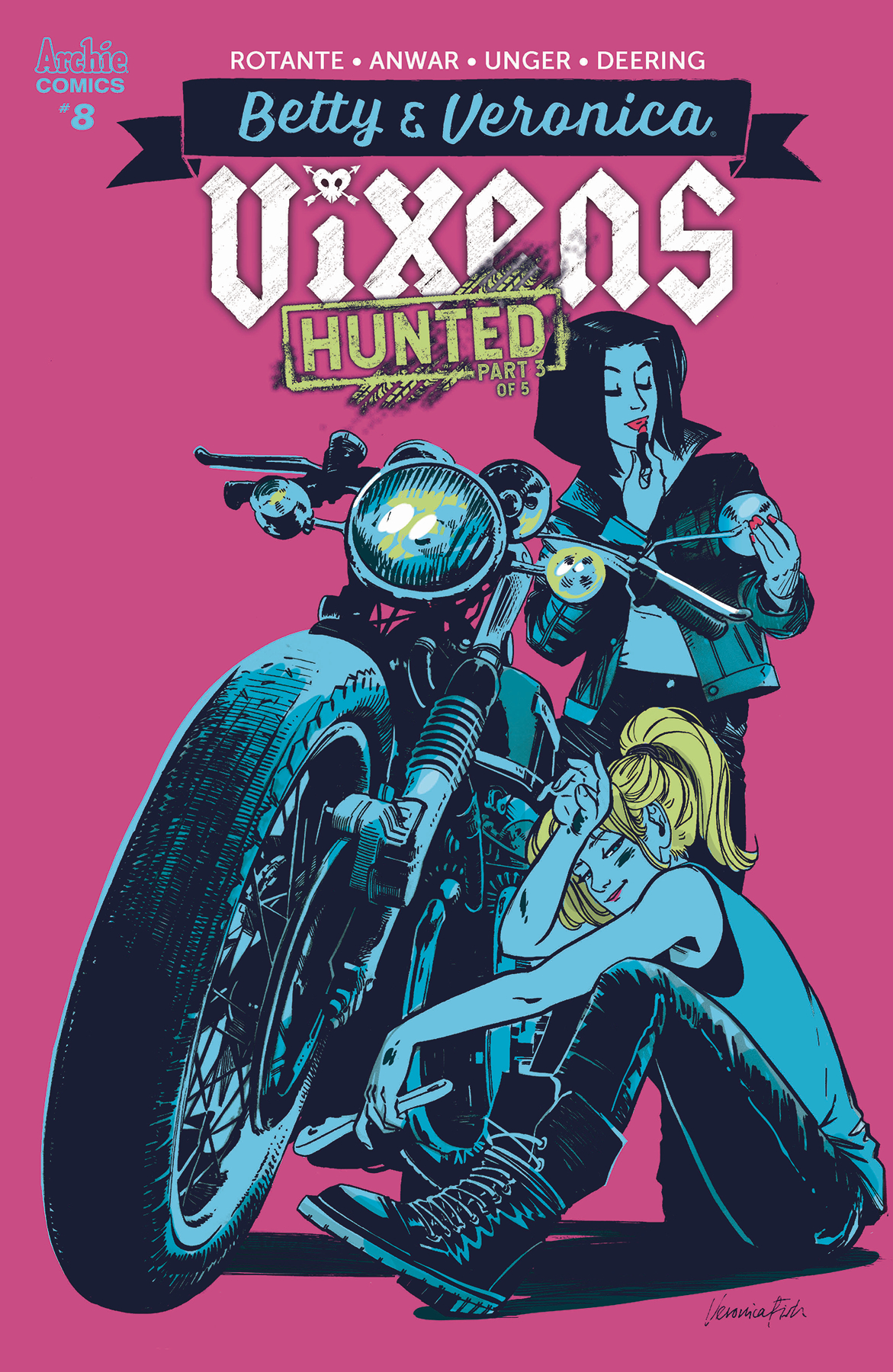 BETTY AND VERONICA VIXENS #8 (OF 10) CVR B FISH