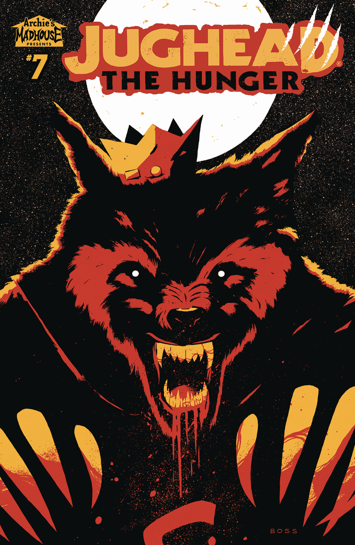 JUGHEAD THE HUNGER #7 CVR B BOSS (MR)