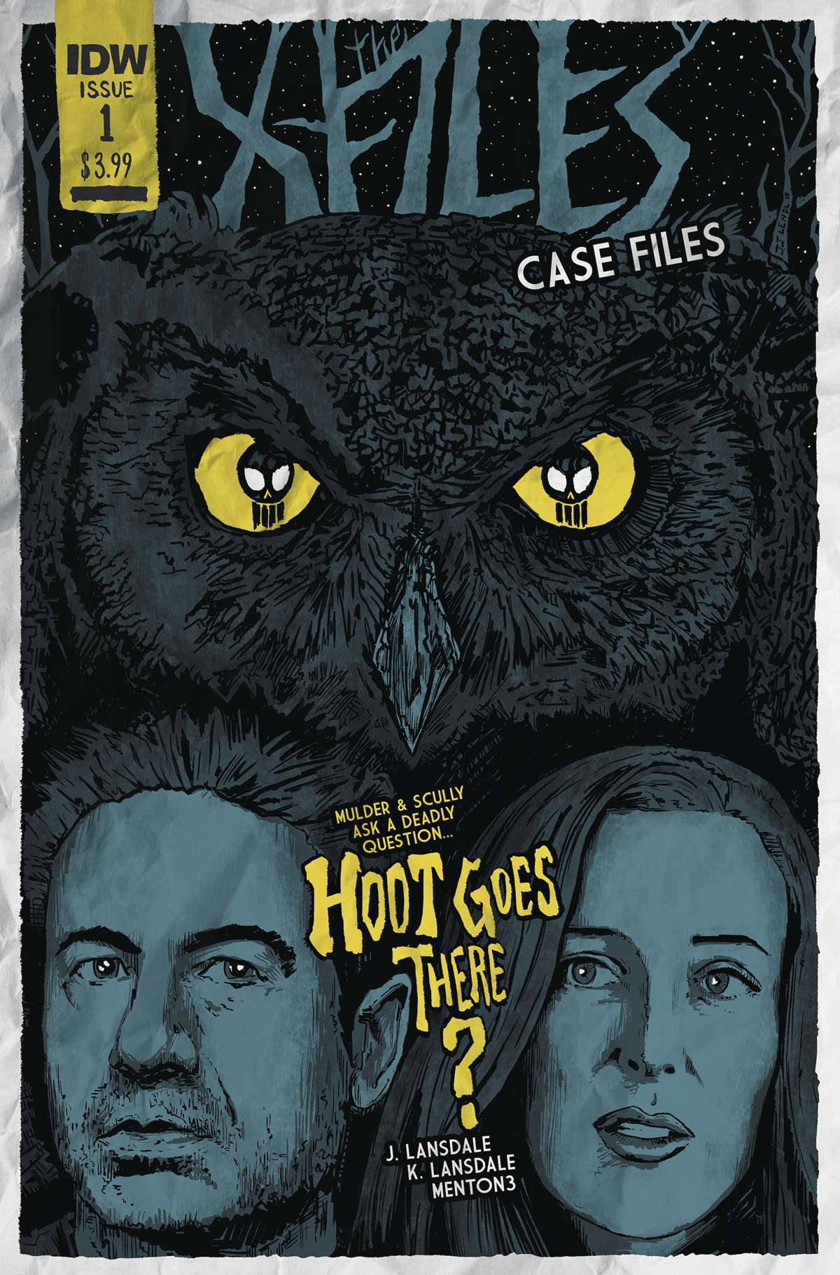 X-FILES CASE FILES HOOT GOES THERE #1 (OF 2) CVR B LENDL