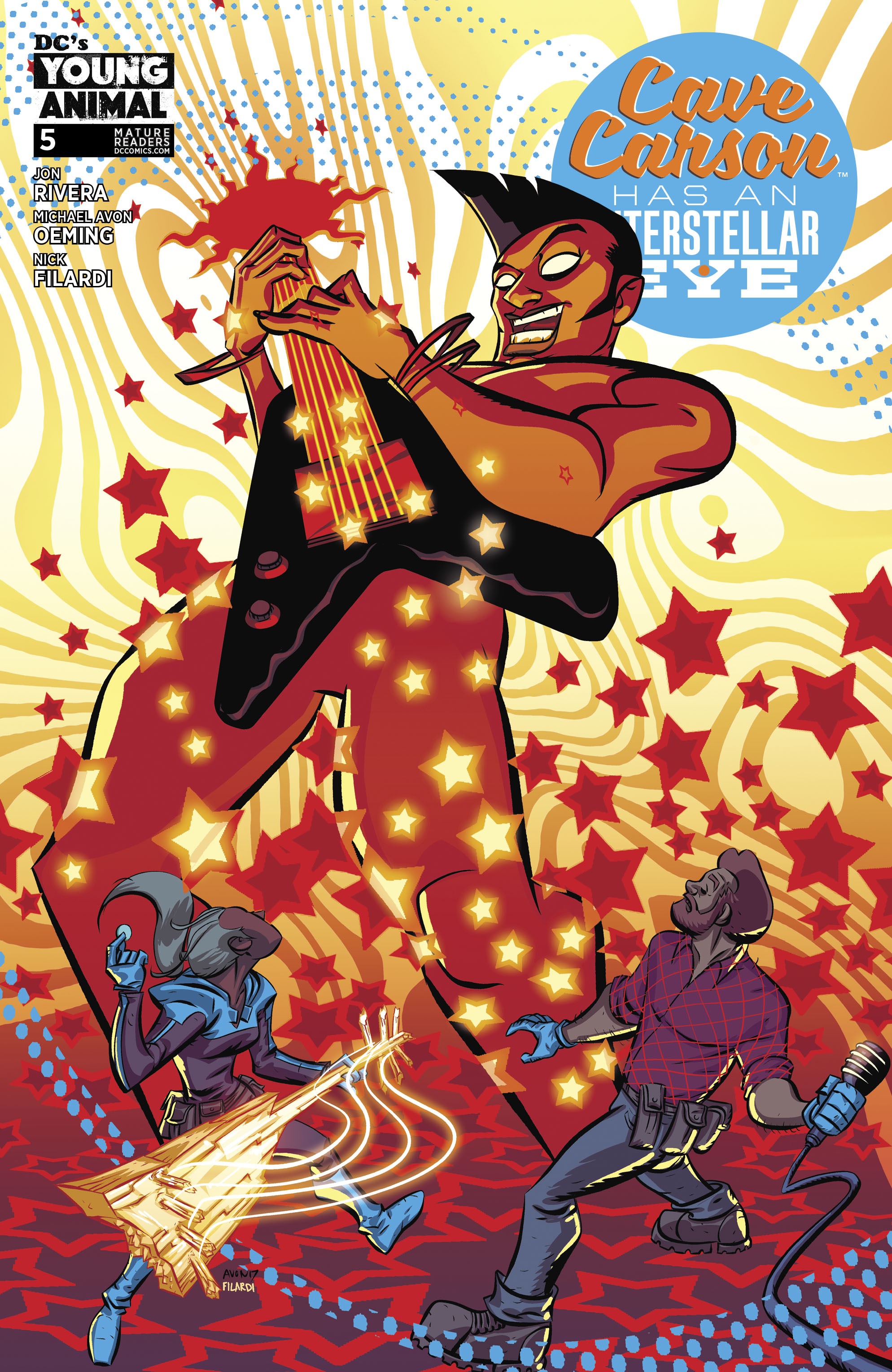 CAVE CARSON HAS AN INTERSTELLAR EYE #5 (MR)