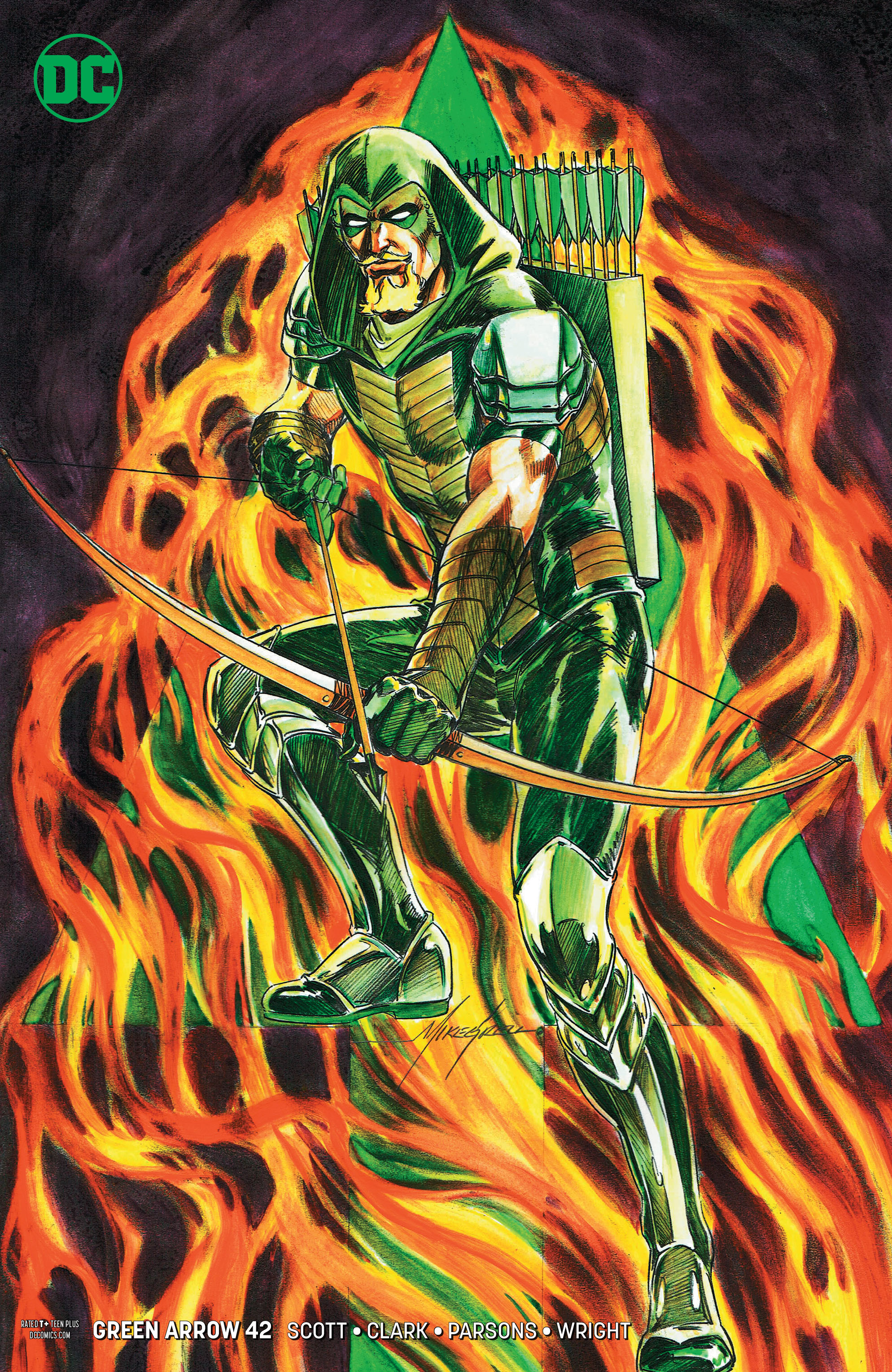 GREEN ARROW #42 VAR ED