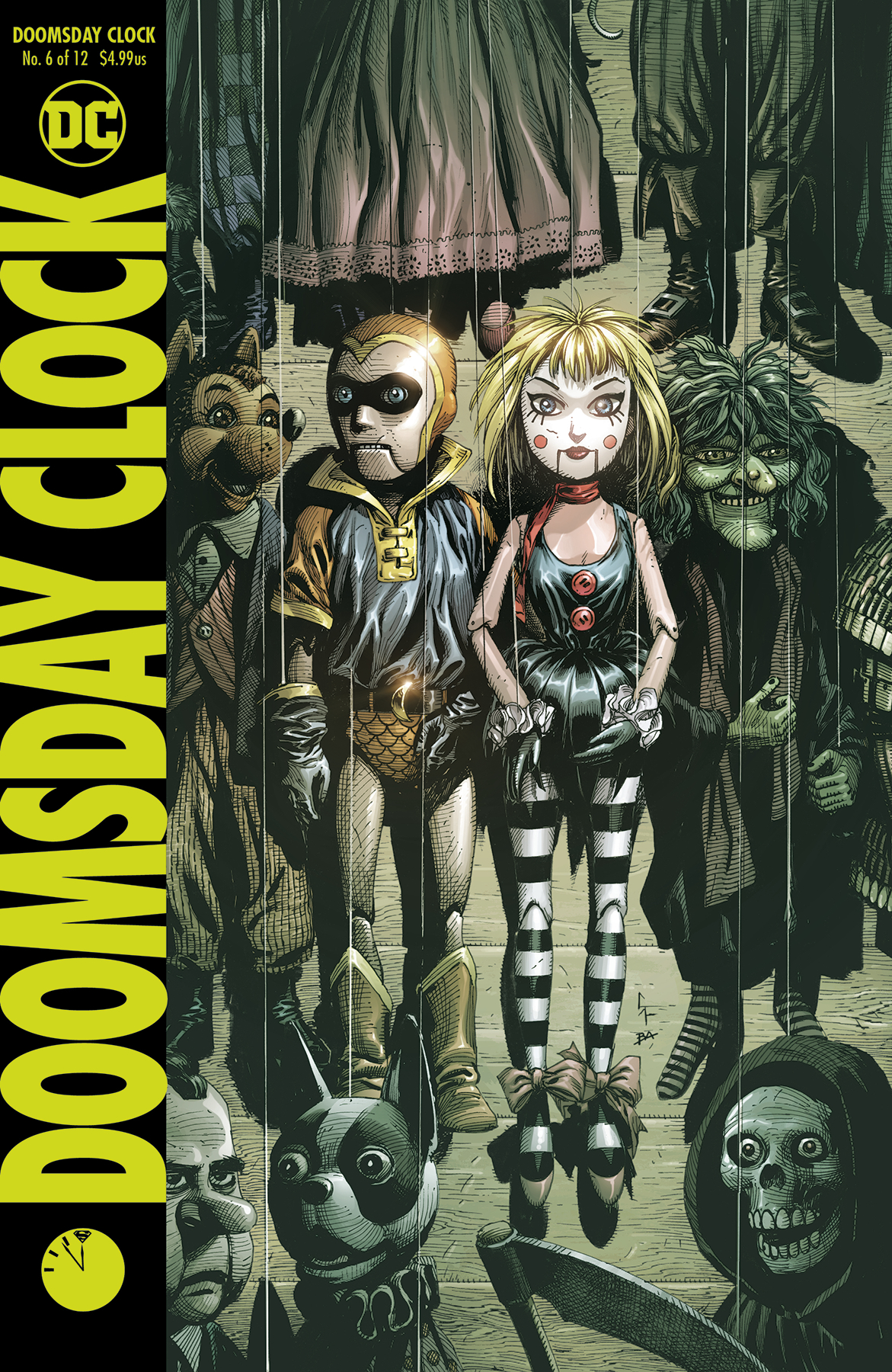 DOOMSDAY CLOCK #6 (OF 12)