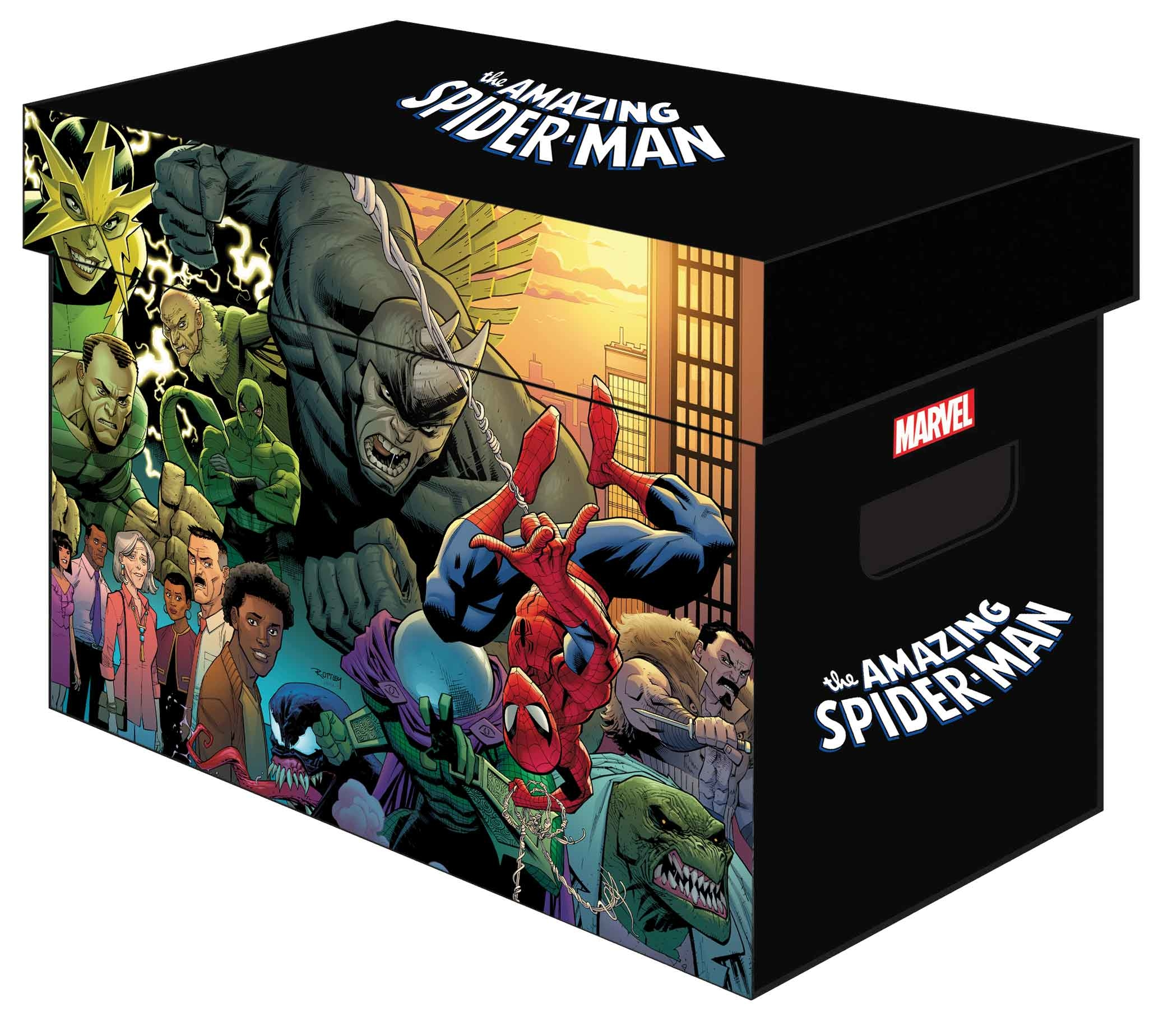 MARVEL GRAPHIC COMIC BOXES AMAZING SPIDER-MAN (BUNDLE OF 5)