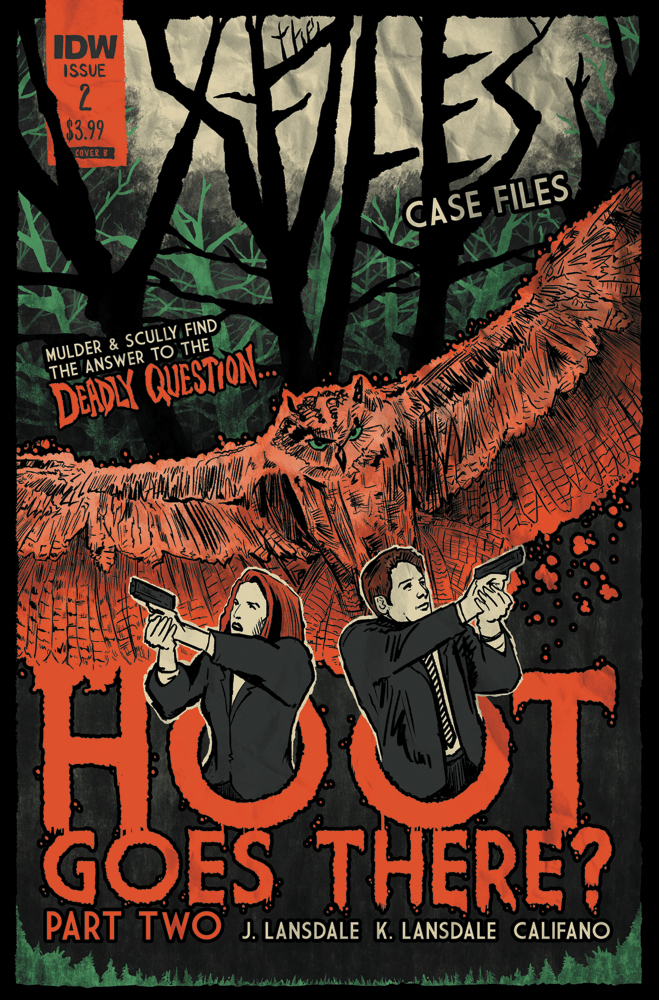 X-FILES CASE FILES HOOT GOES THERE #2 (OF 2) CVR B LENDL