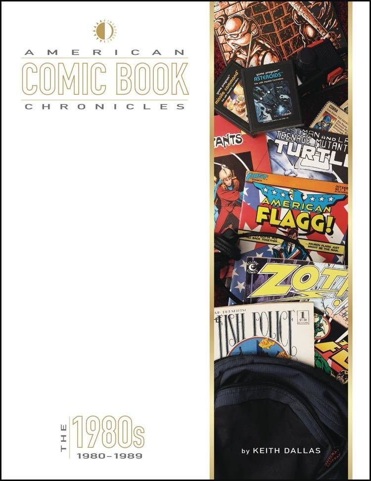AMERICAN COMIC BOOK CHRONICLES HC 1980S NEW PTG (RES)