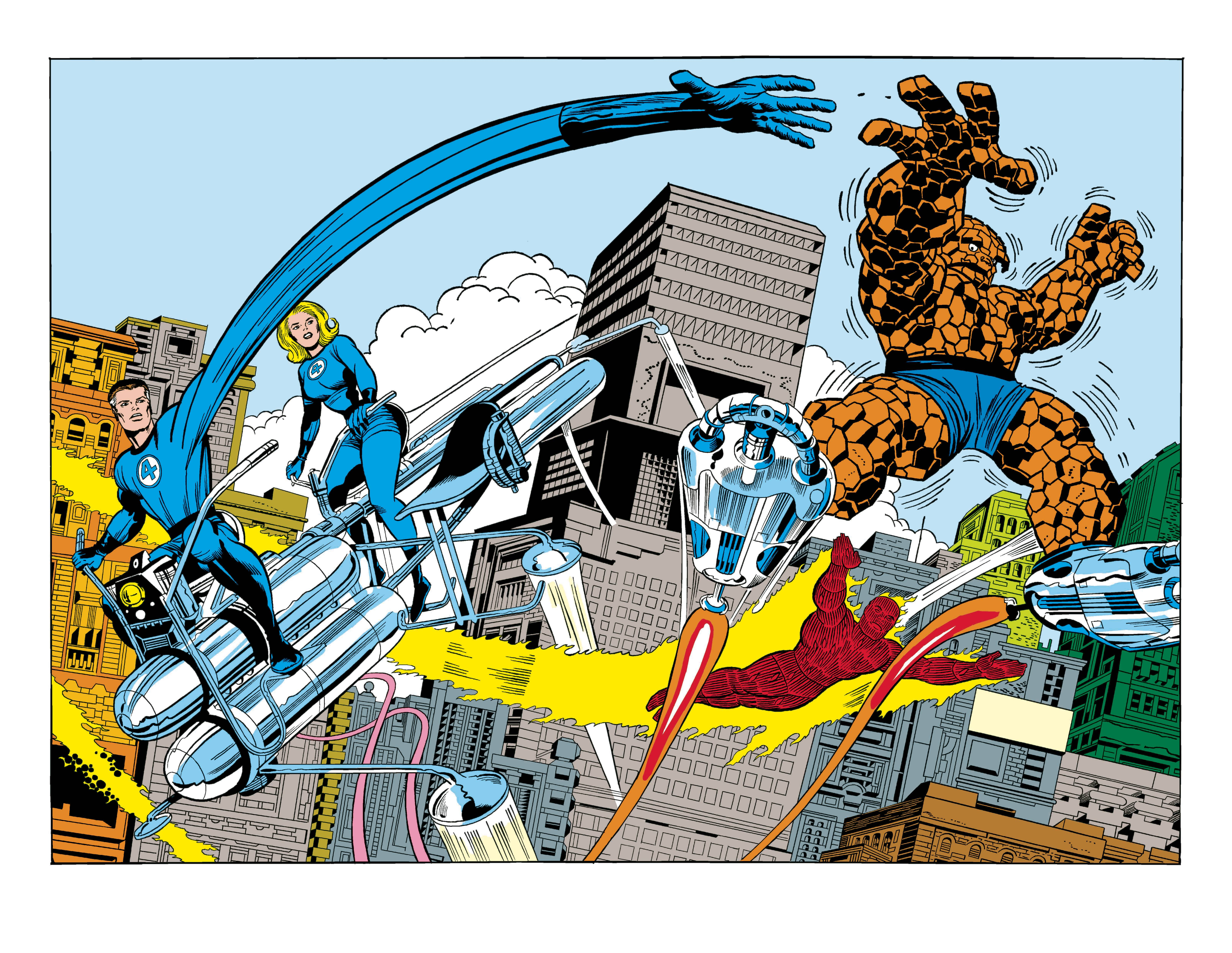 FANTASTIC FOUR BY KIRBY CLASSIC POSTER