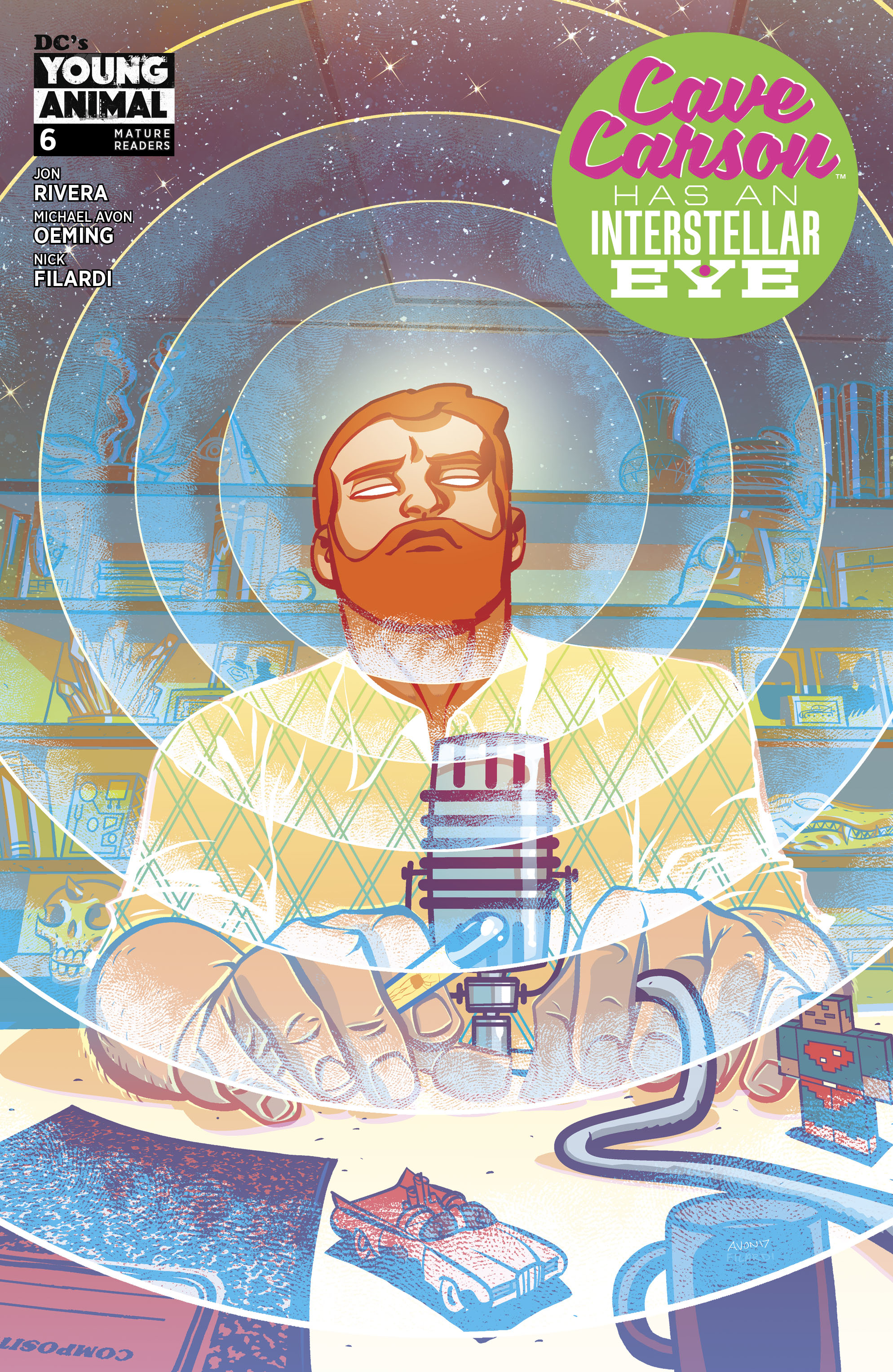 CAVE CARSON HAS AN INTERSTELLAR EYE #6 (MR)