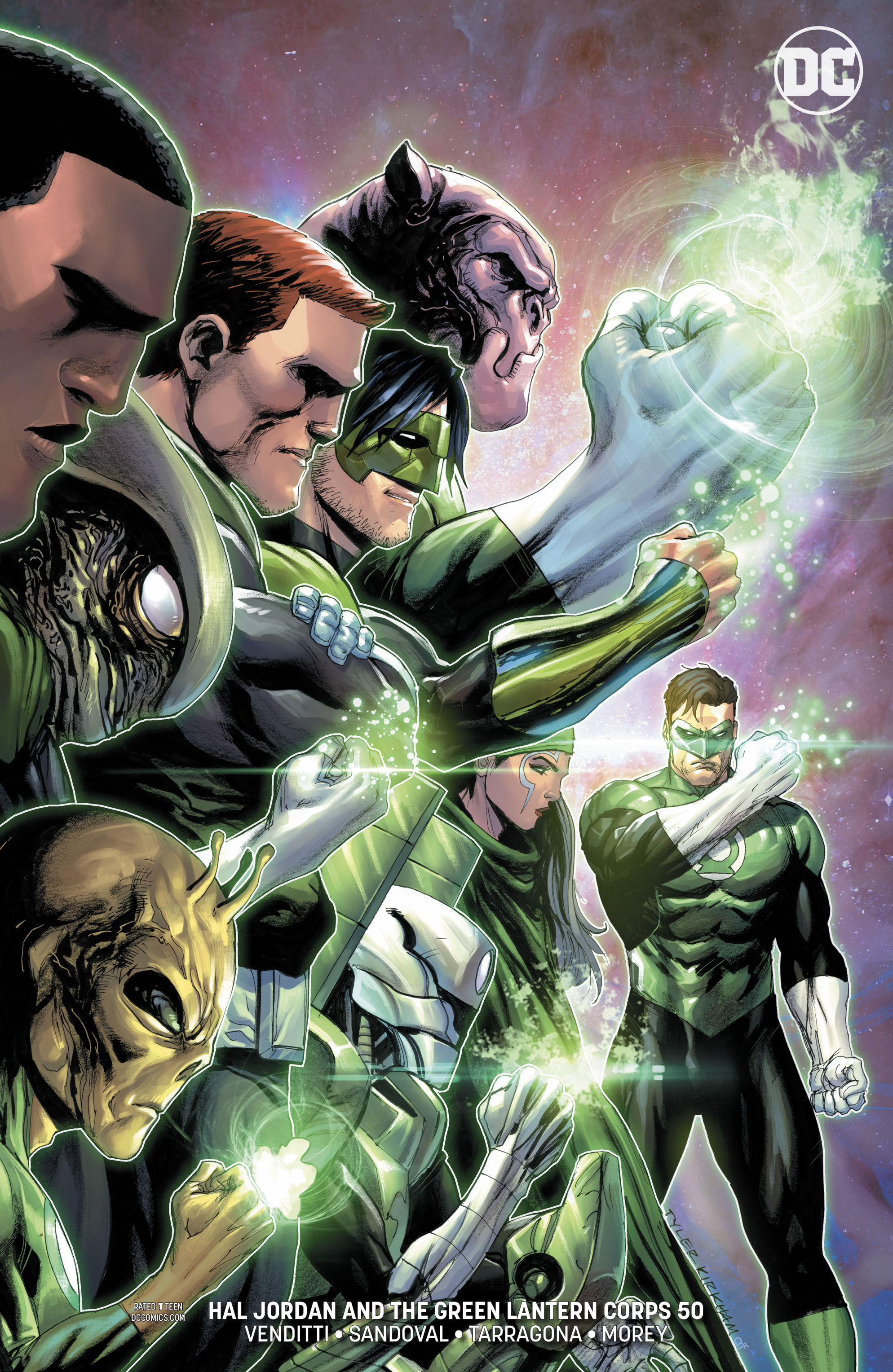 HAL JORDAN AND THE GREEN LANTERN CORPS #50 VAR ED