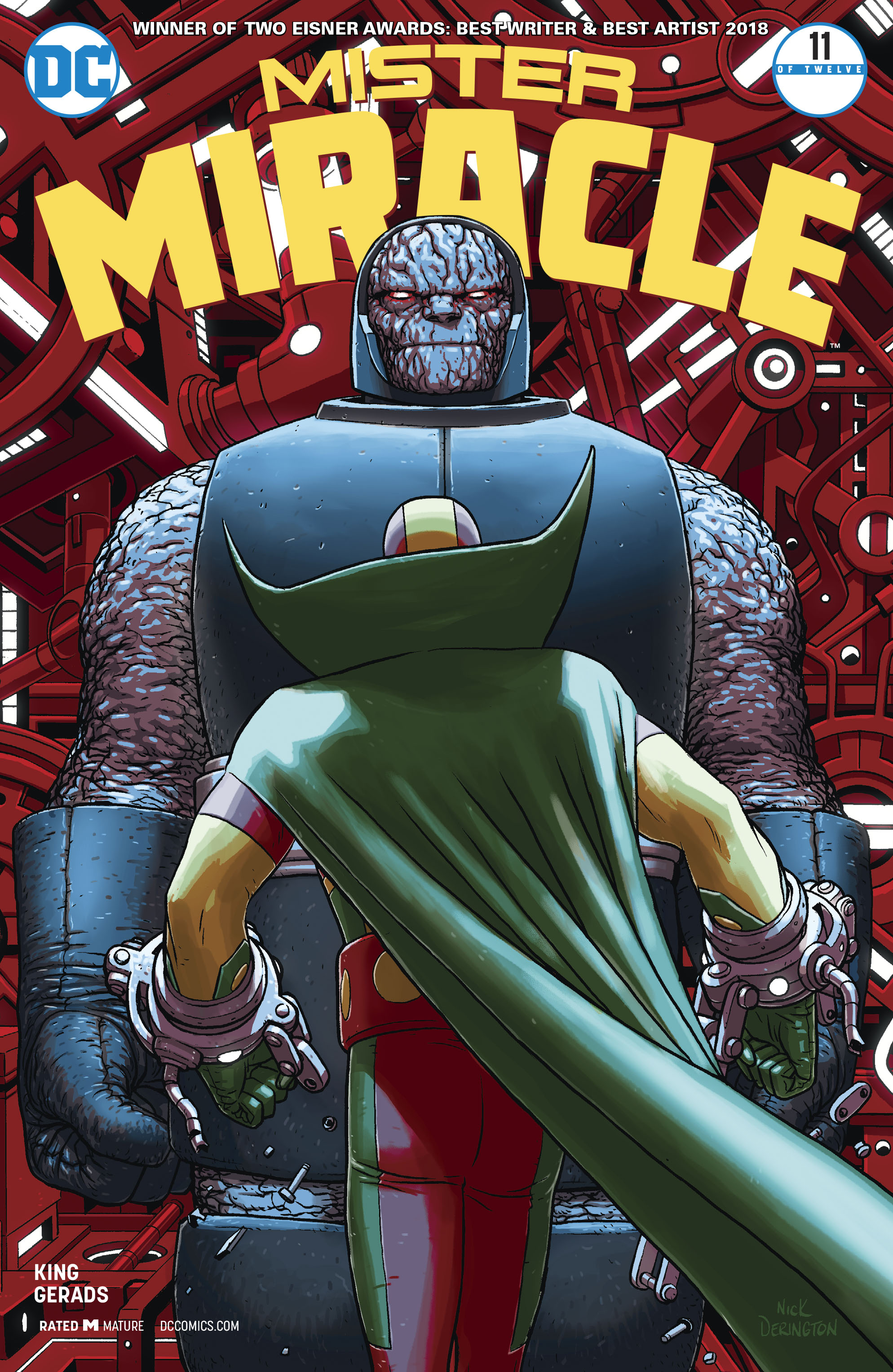 MISTER MIRACLE #11 (OF 12) (MR)