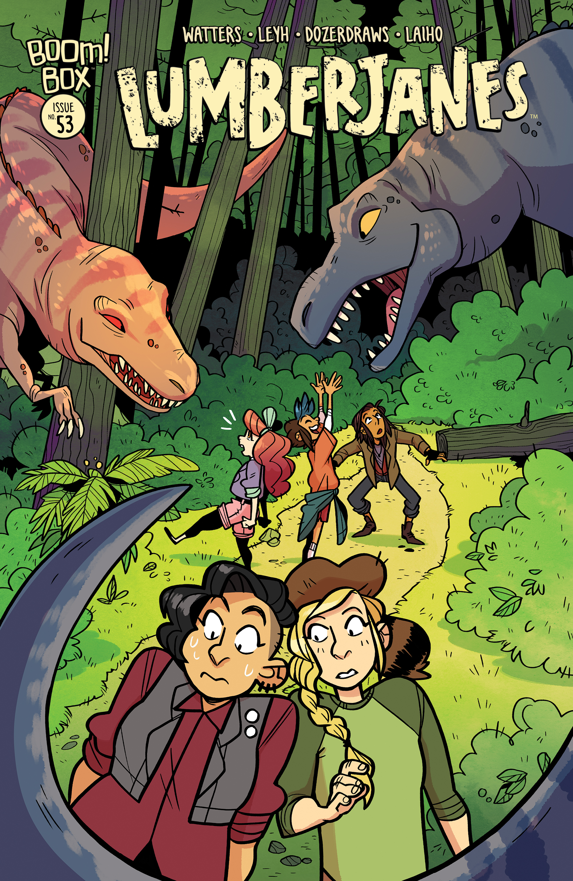 LUMBERJANES #53 SUBSCRIPTION DOZERDRAWS VAR