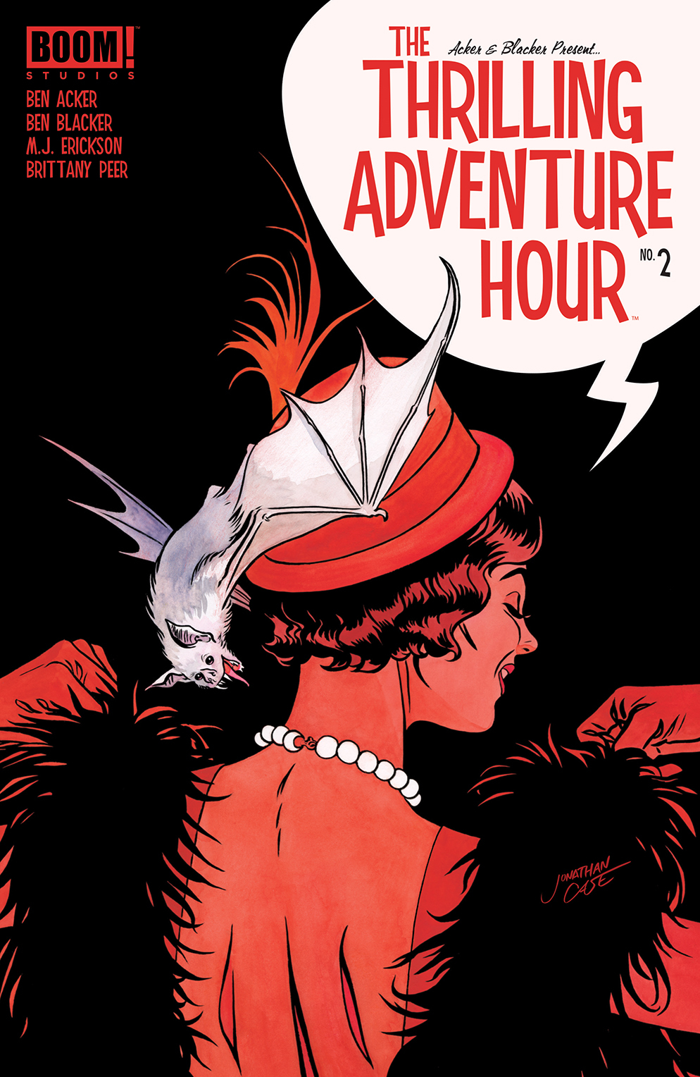 THRILLING ADVENTURE HOUR #2 (OF 4) CVR A CASE
