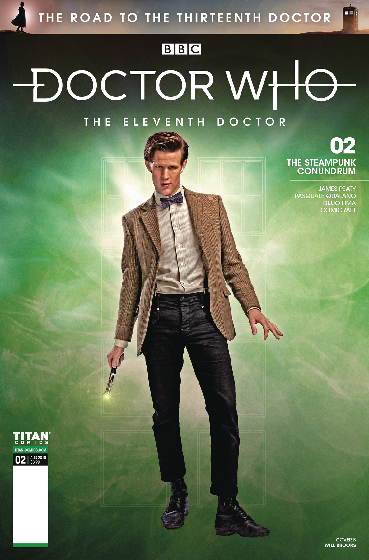 DOCTOR WHO ROAD TO 13TH DR #2 11TH CVR B PHOTO