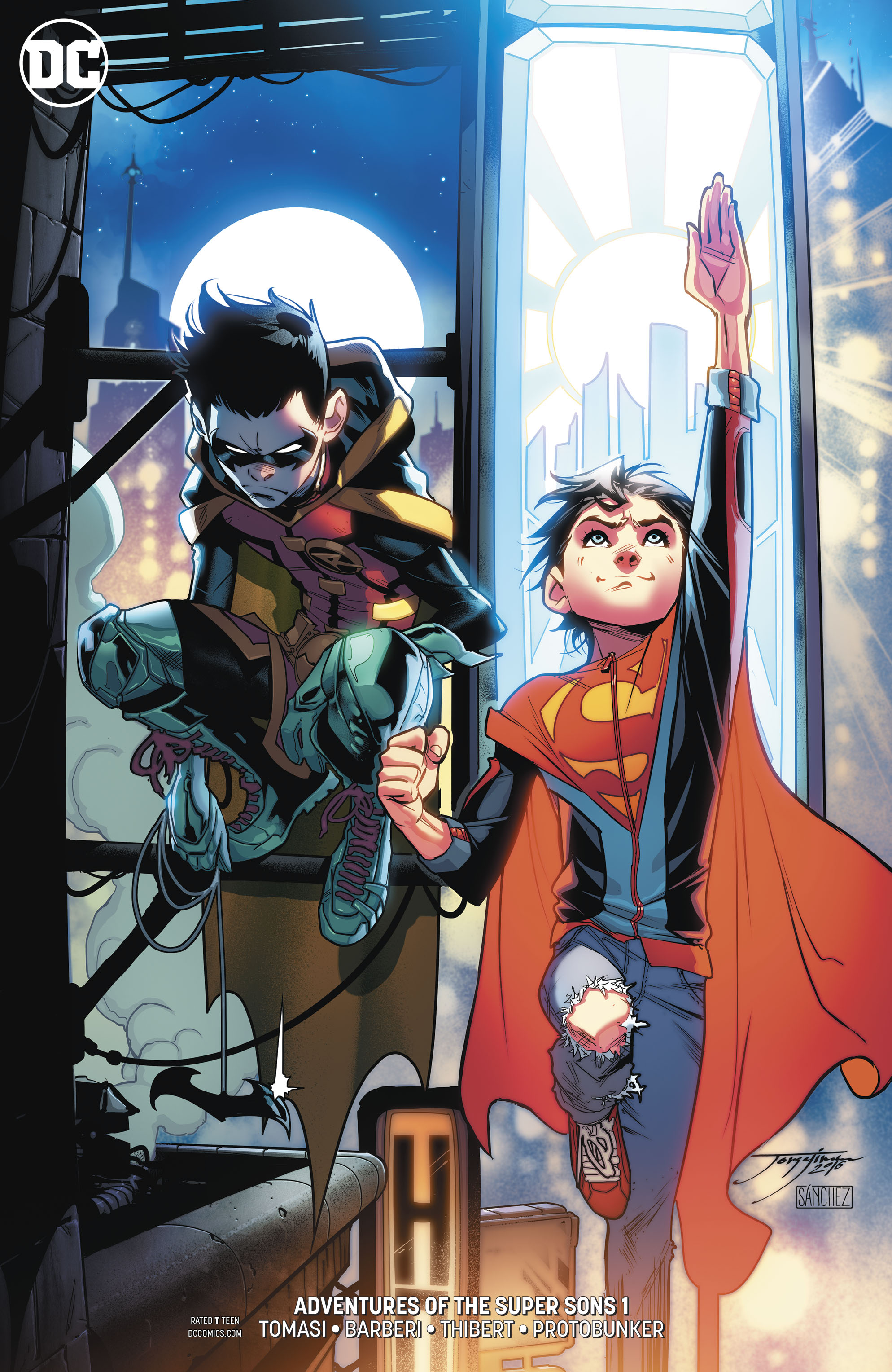 ADVENTURES OF THE SUPER SONS #1 (OF 12) VAR ED