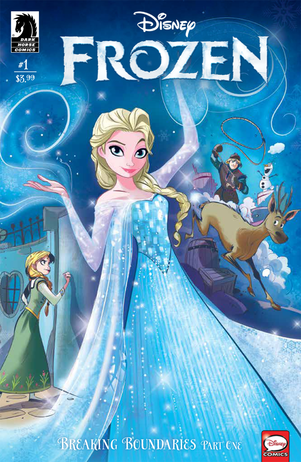 DISNEY FROZEN BREAKING BOUNDARIES #1