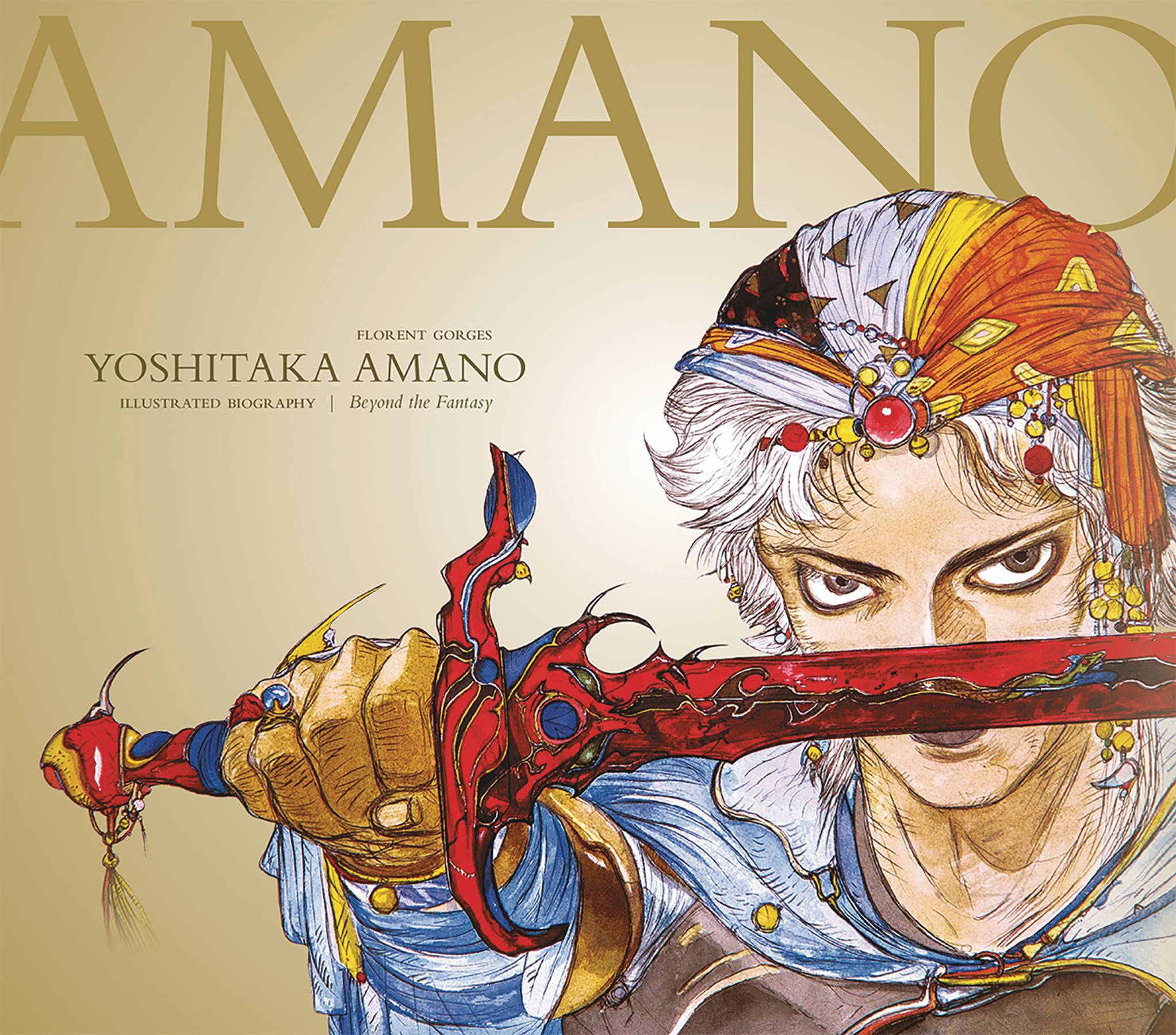 YOSHITAKA AMANO THE ILLUSTRATED BIOGRAPHY LTD ED HC BEYOND T