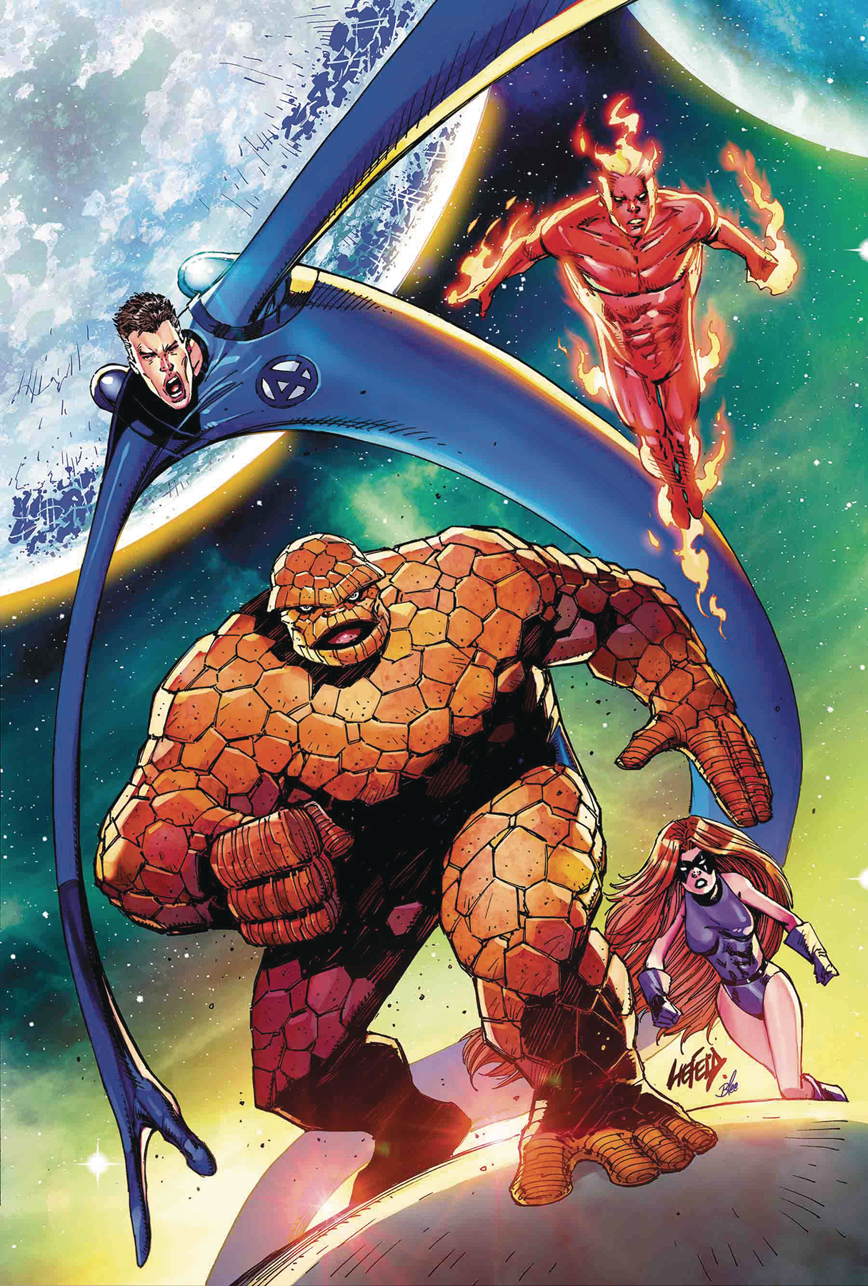 DEADPOOL #3 LIEFELD RETURN OF FANTASTIC FOUR VAR