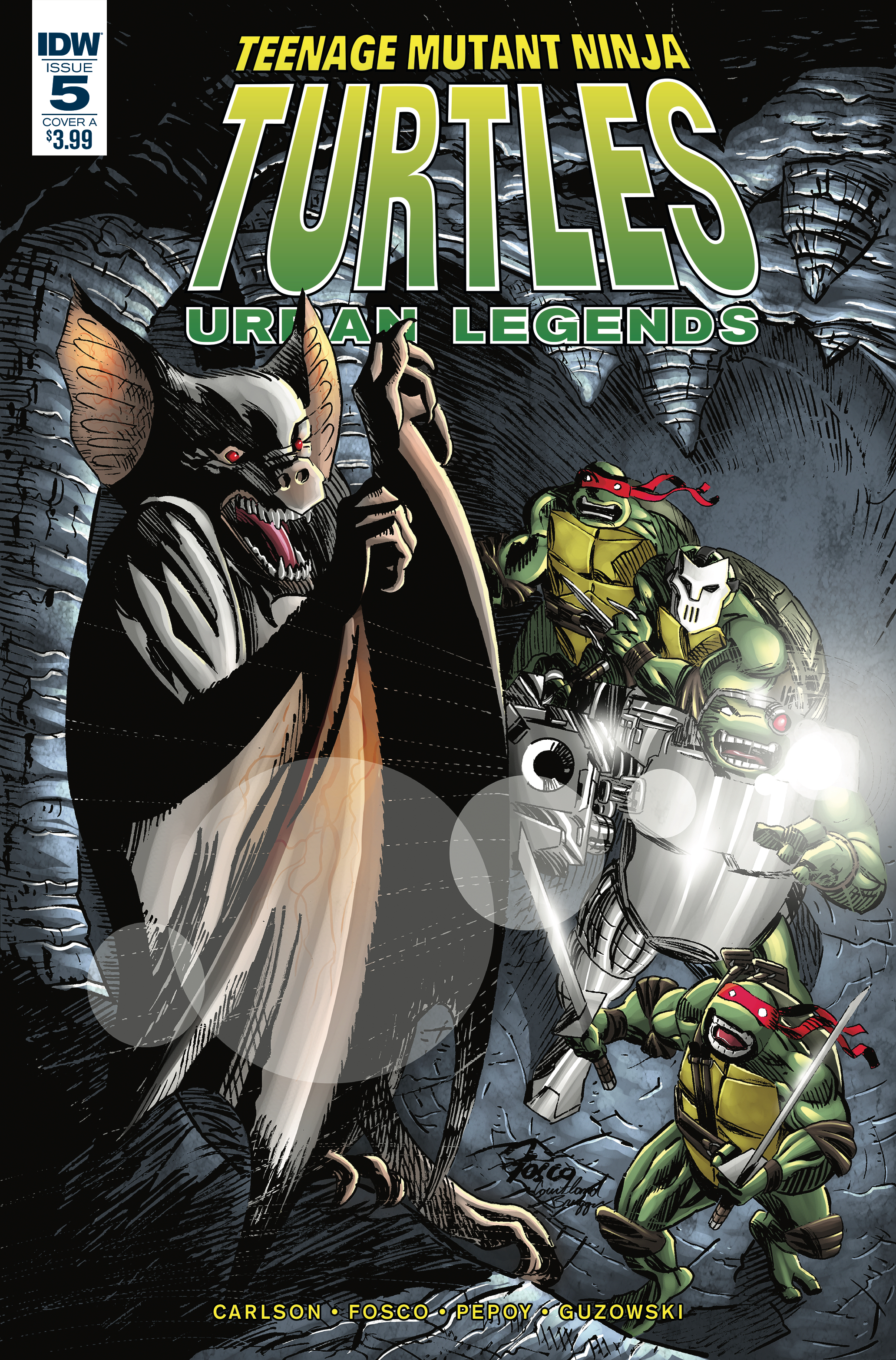 TMNT URBAN LEGENDS #5 CVR A FOSCO