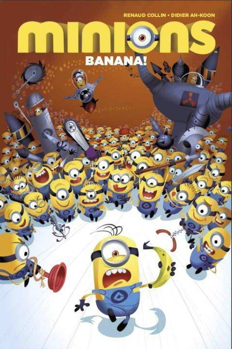 MINIONS DIGEST TP VOL 01 BANANA (O/A)