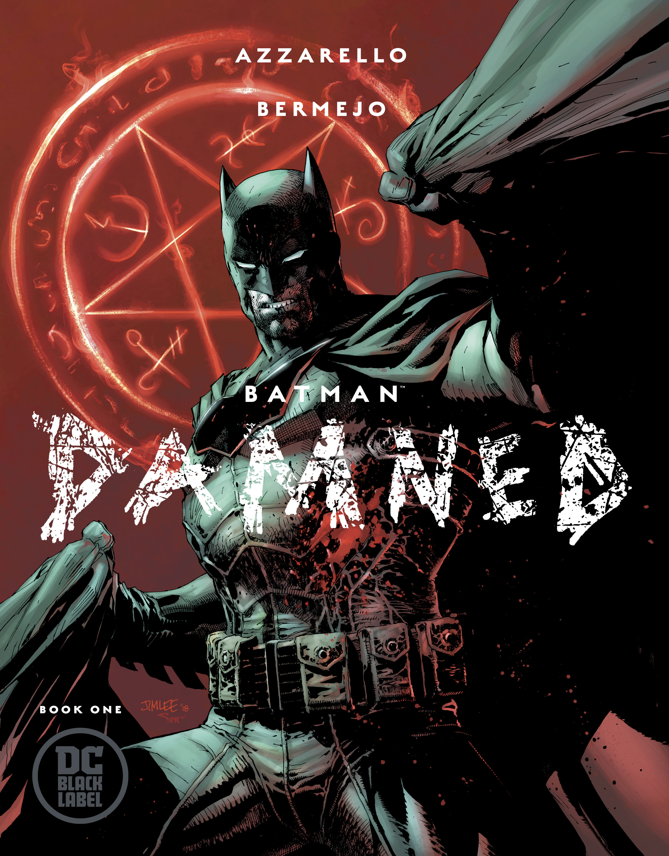 BATMAN DAMNED #1 (OF 3) VAR ED (MR)
