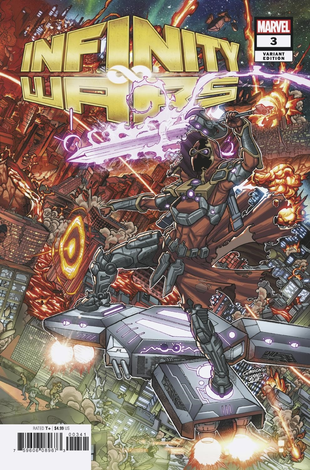 INFINITY WARS #3 (OF 6) GARRON CONNECTING VAR