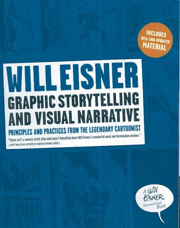 WILL EISNER GRAPHIC STORYTELLING VISUAL NARRATIVE SC