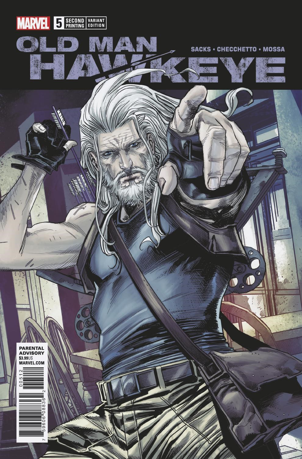 OLD MAN HAWKEYE #5 (OF 12) 2ND PTG CHECCHETTO VAR