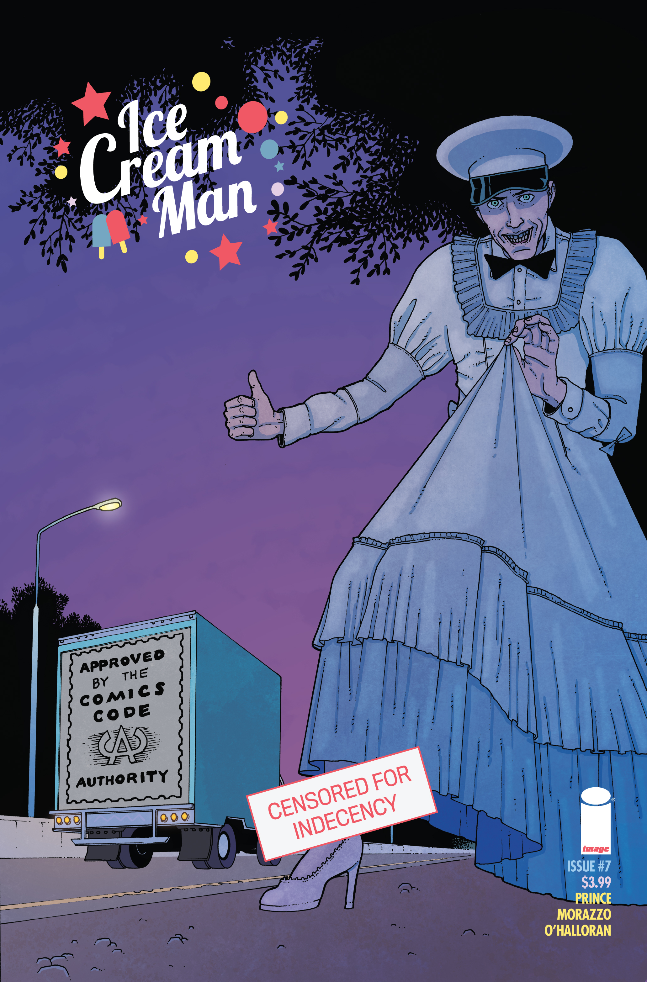 ICE CREAM MAN #7 CVR C CBLDF CHARITY VAR CENSORED (MR)