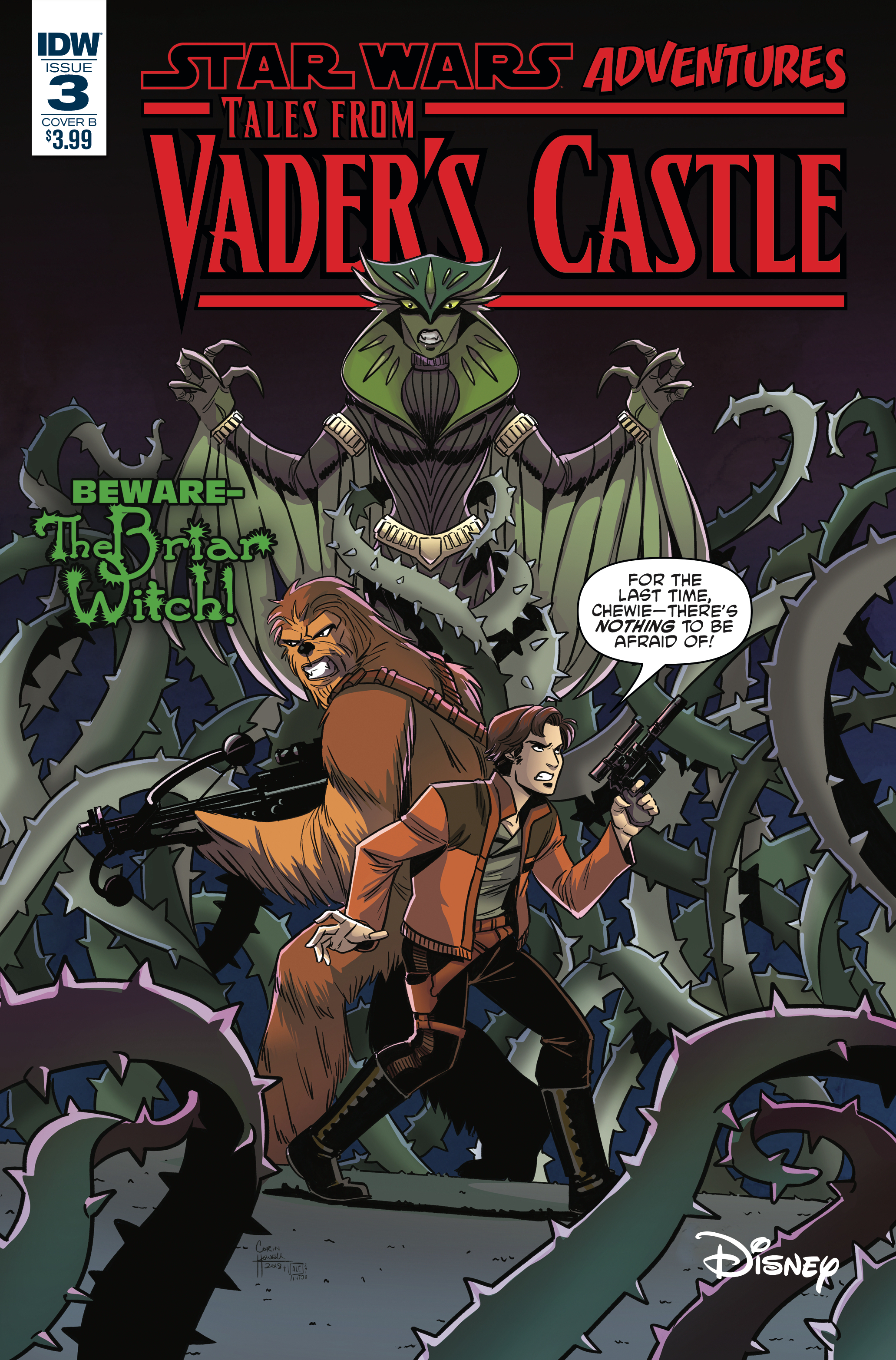 STAR WARS TALES FROM VADERS CASTLE #3 (OF 5) CVR B HOWELL (C