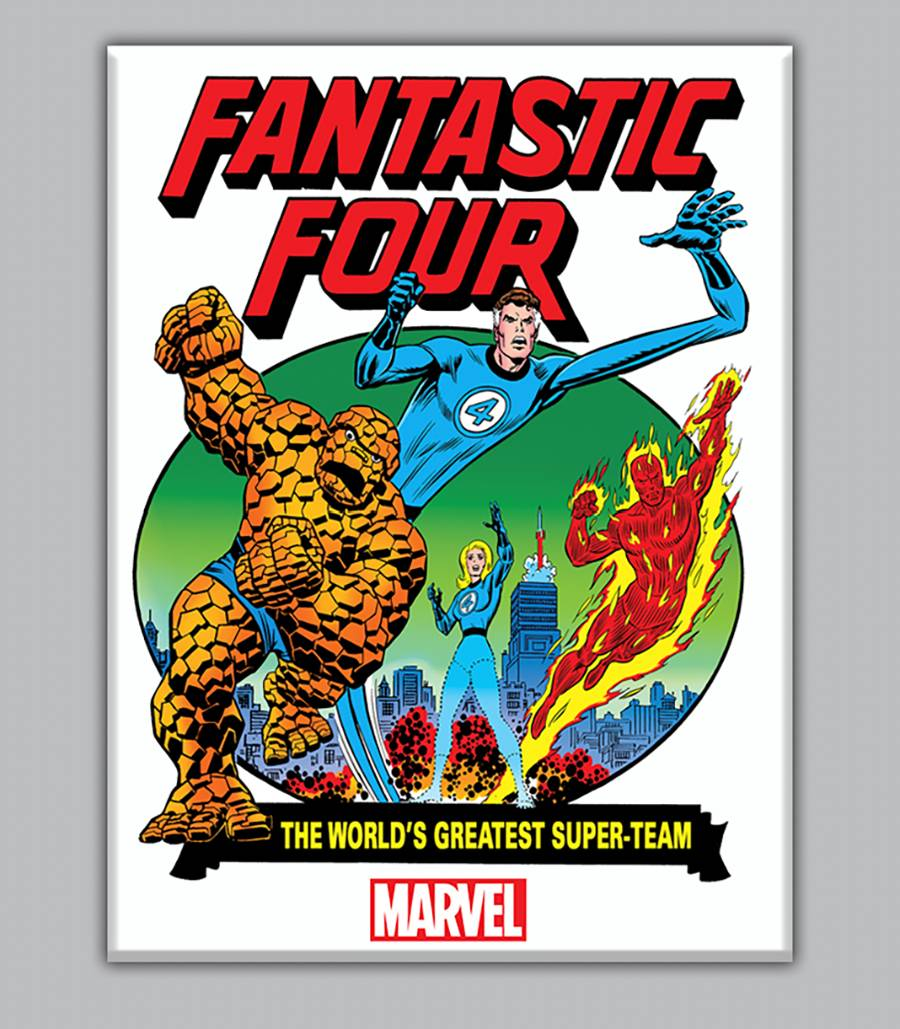 FANTASTIC FOUR ROMITA CLASSIC PARTY PINS (BUNDLE OF 25) (Net