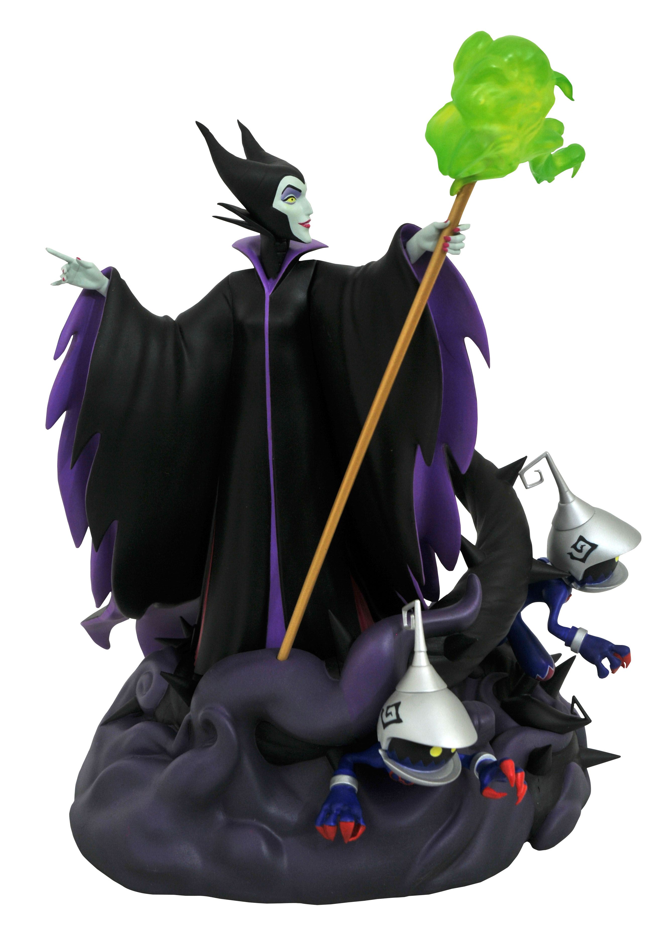 KINGDOM HEARTS 3 GALLERY MALEFICENT PVC STATUE (GAMESTOP) (C