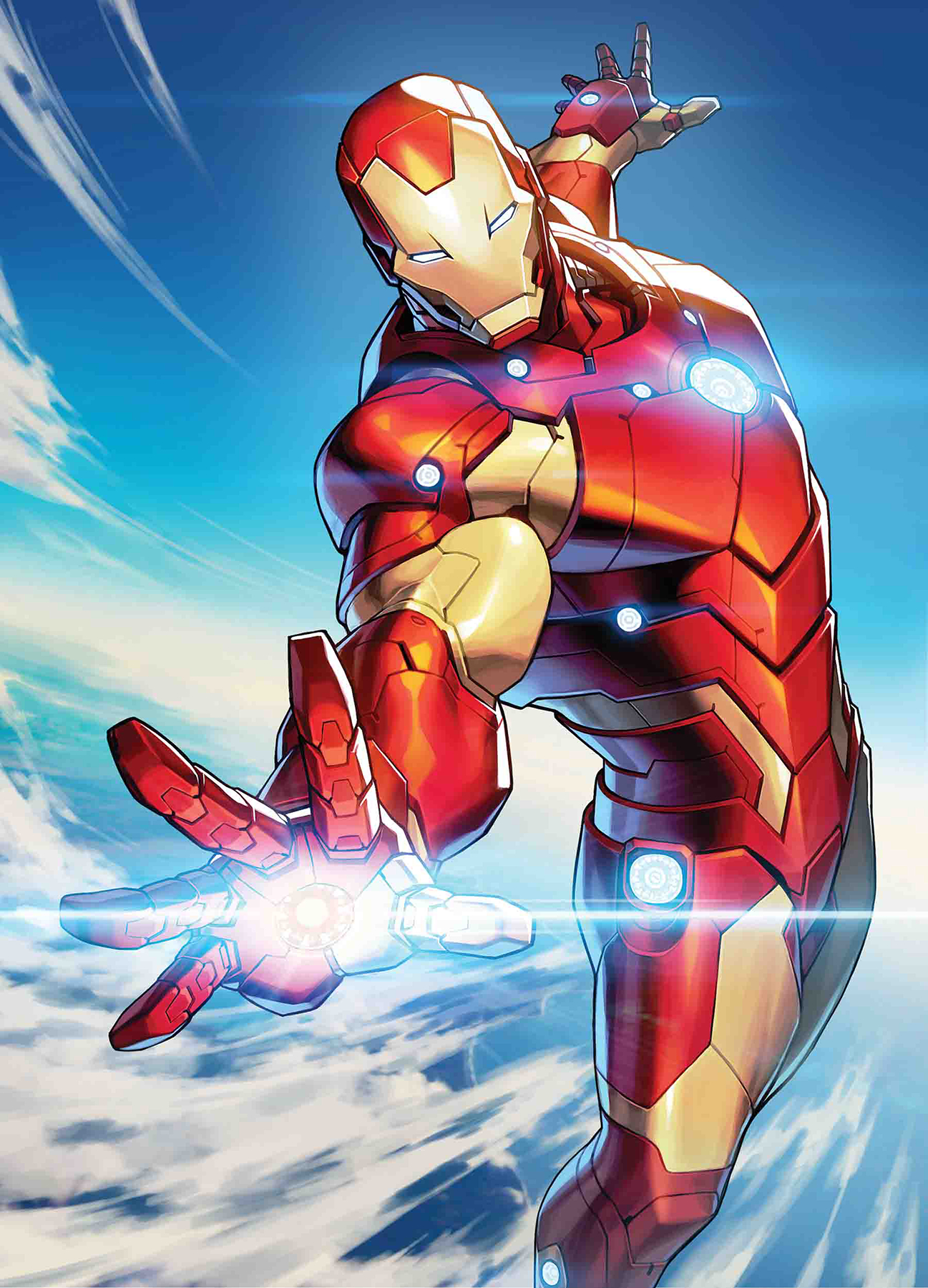 TONY STARK IRON MAN #5 JONG-JU KIM MARVEL BATTLE LINES VAR