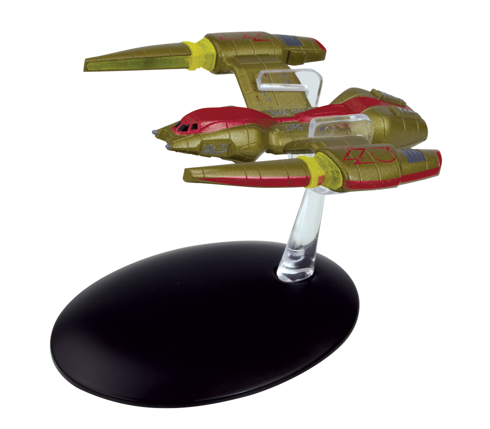 STAR TREK STARSHIPS FIG MAG #133 IRINA SHIP