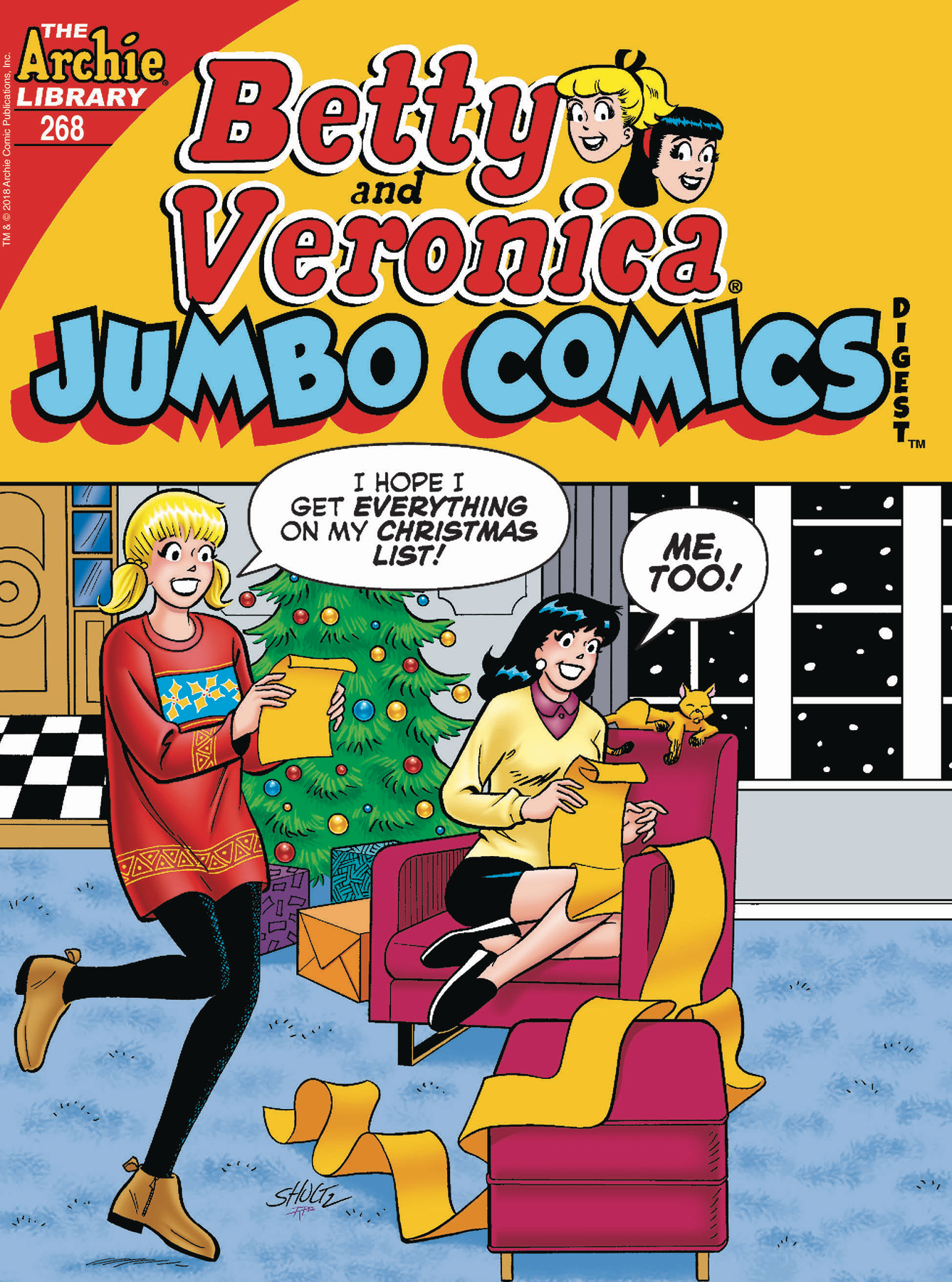 BETTY & VERONICA JUMBO COMICS DIGEST #268