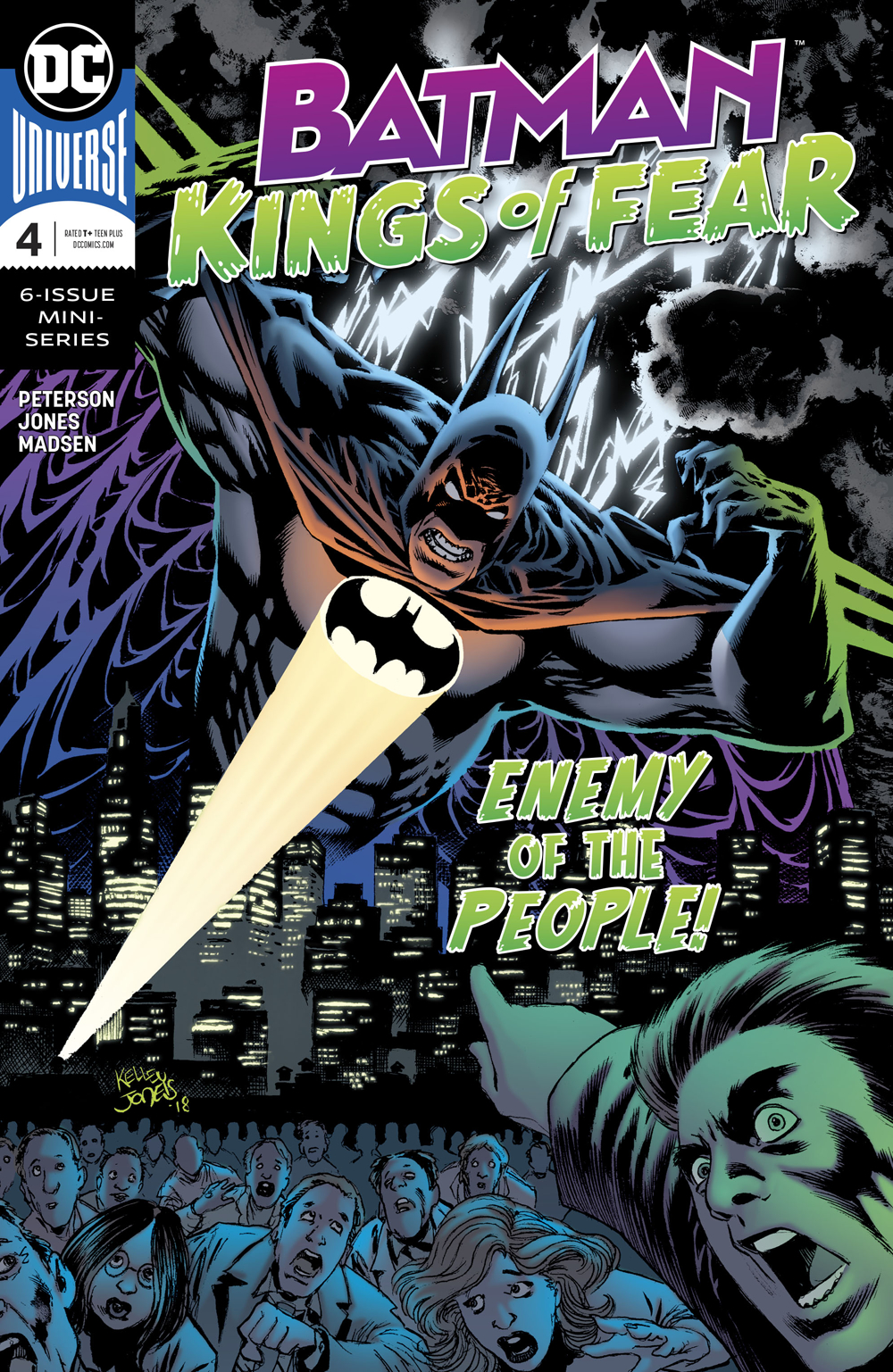 BATMAN KINGS OF FEAR #4 (OF 6)