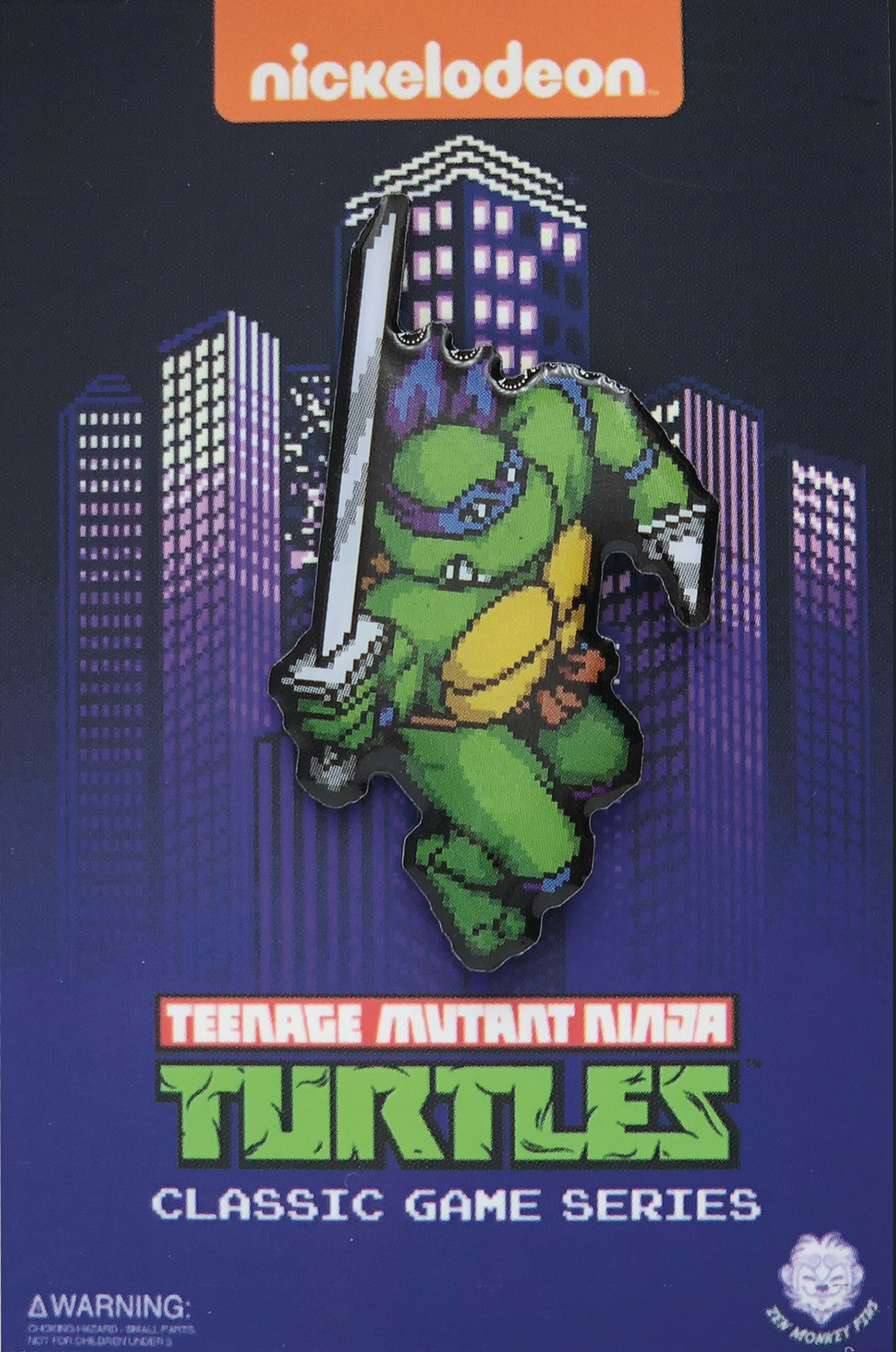 TMNT TURTLES IN TIME CHARACTER SELECT LEO PIN