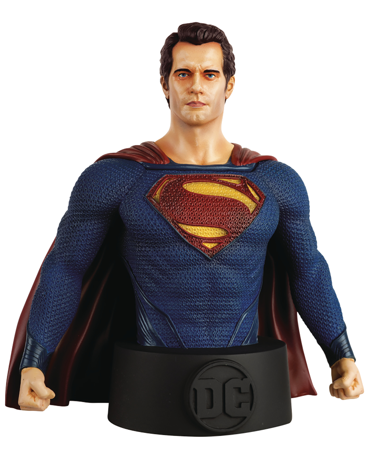 DC BATMAN UNIVERSE BUST COLL #15 MAN OF STEEL MOVIE SUPERMAN