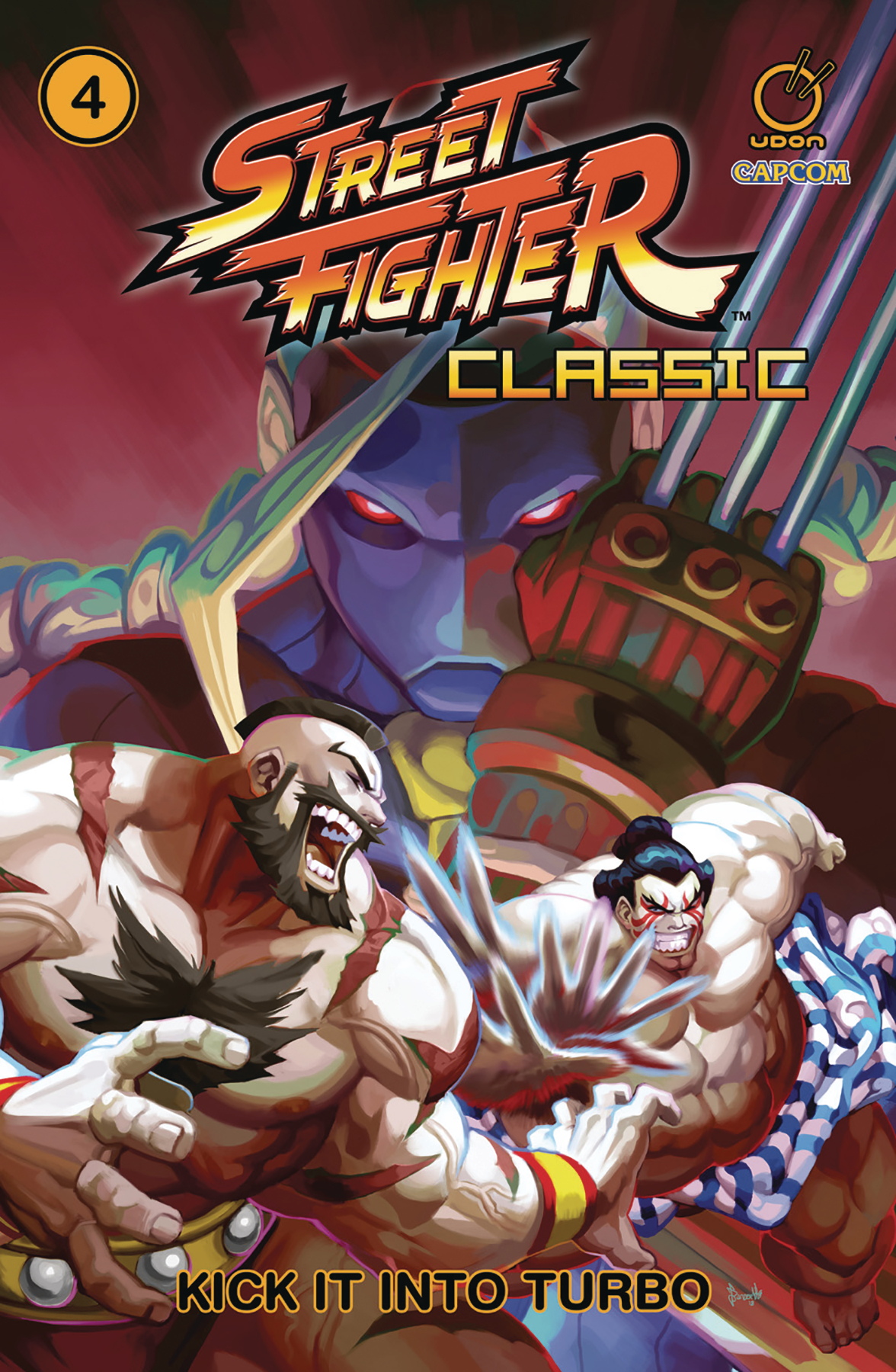 STREET FIGHTER CLASSIC TP VOL 04