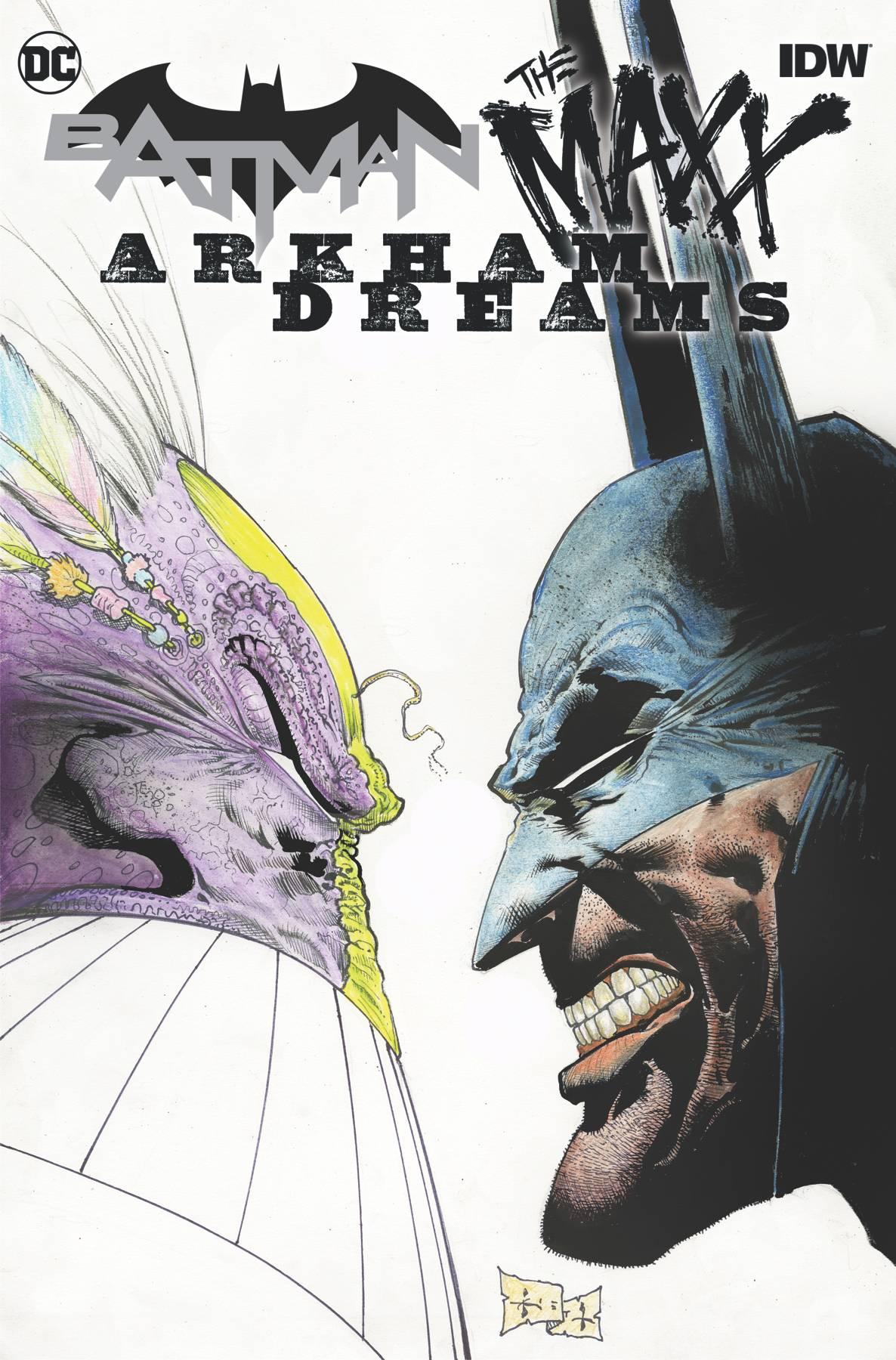 BATMAN THE MAXX ARKHAM DREAMS HC (RES)