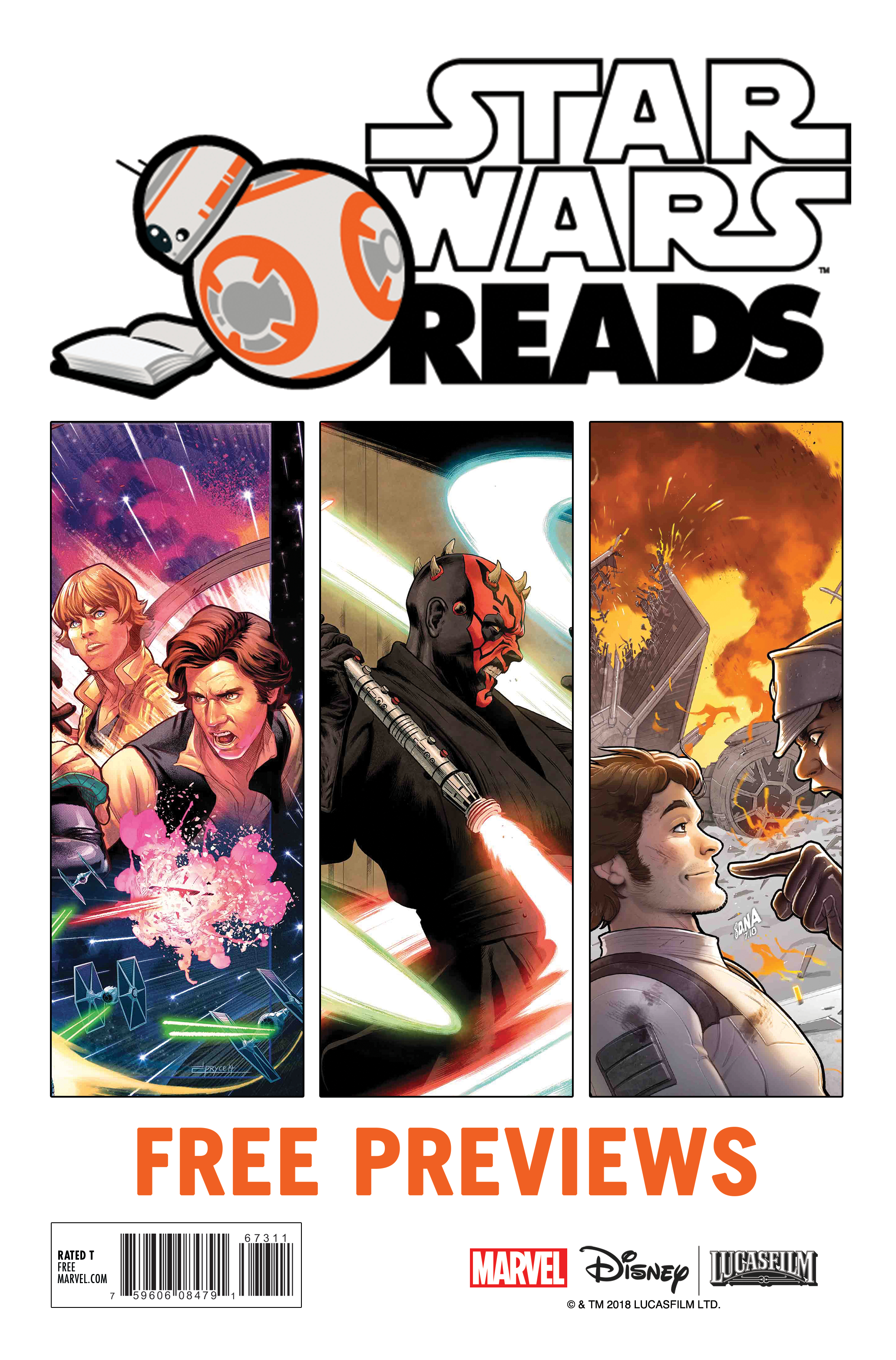 STAR WARS READS 2018 FREE PREVIEWS (BUNDLE OF 25)
