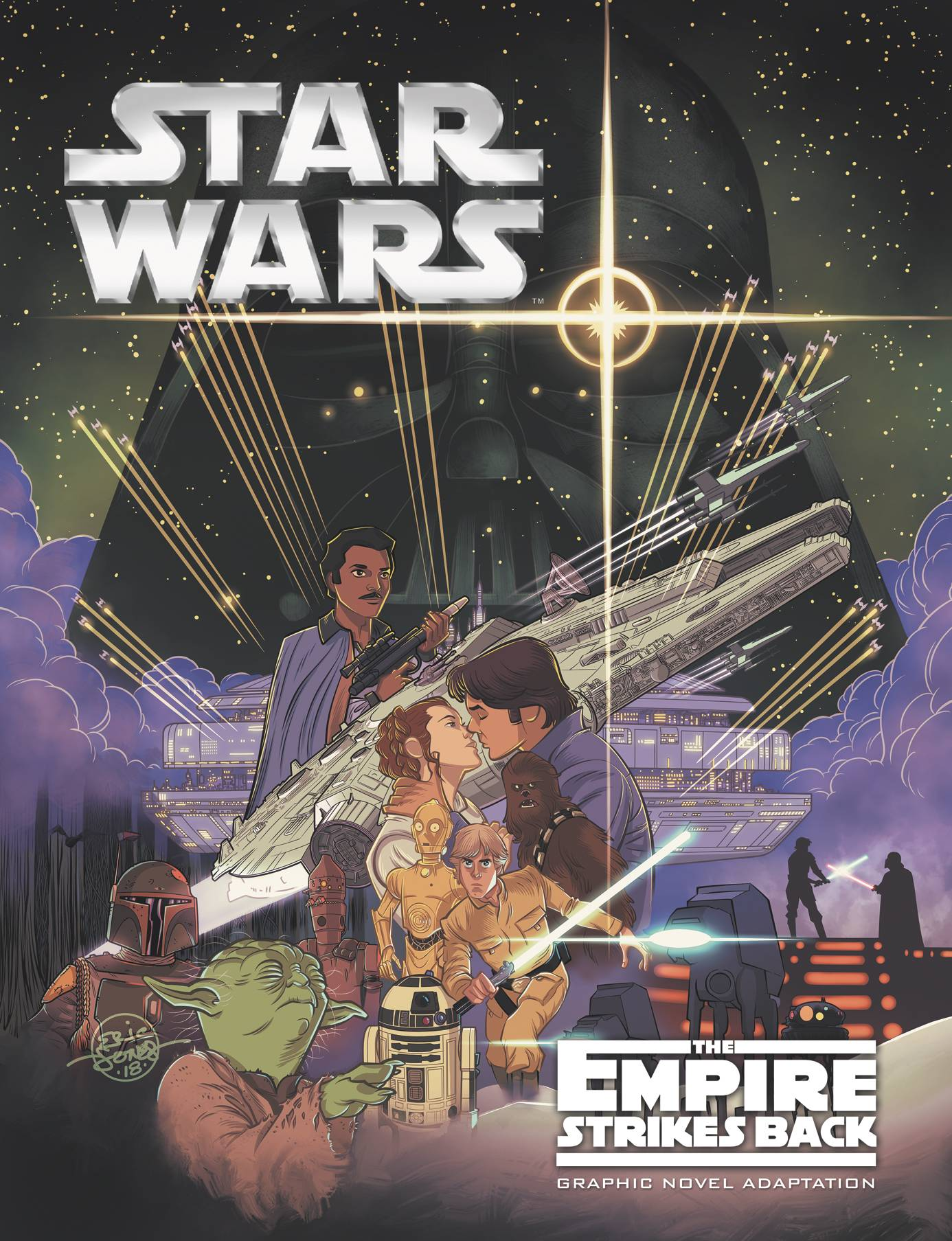 STAR WARS EMPIRE STRIKES BACK GN