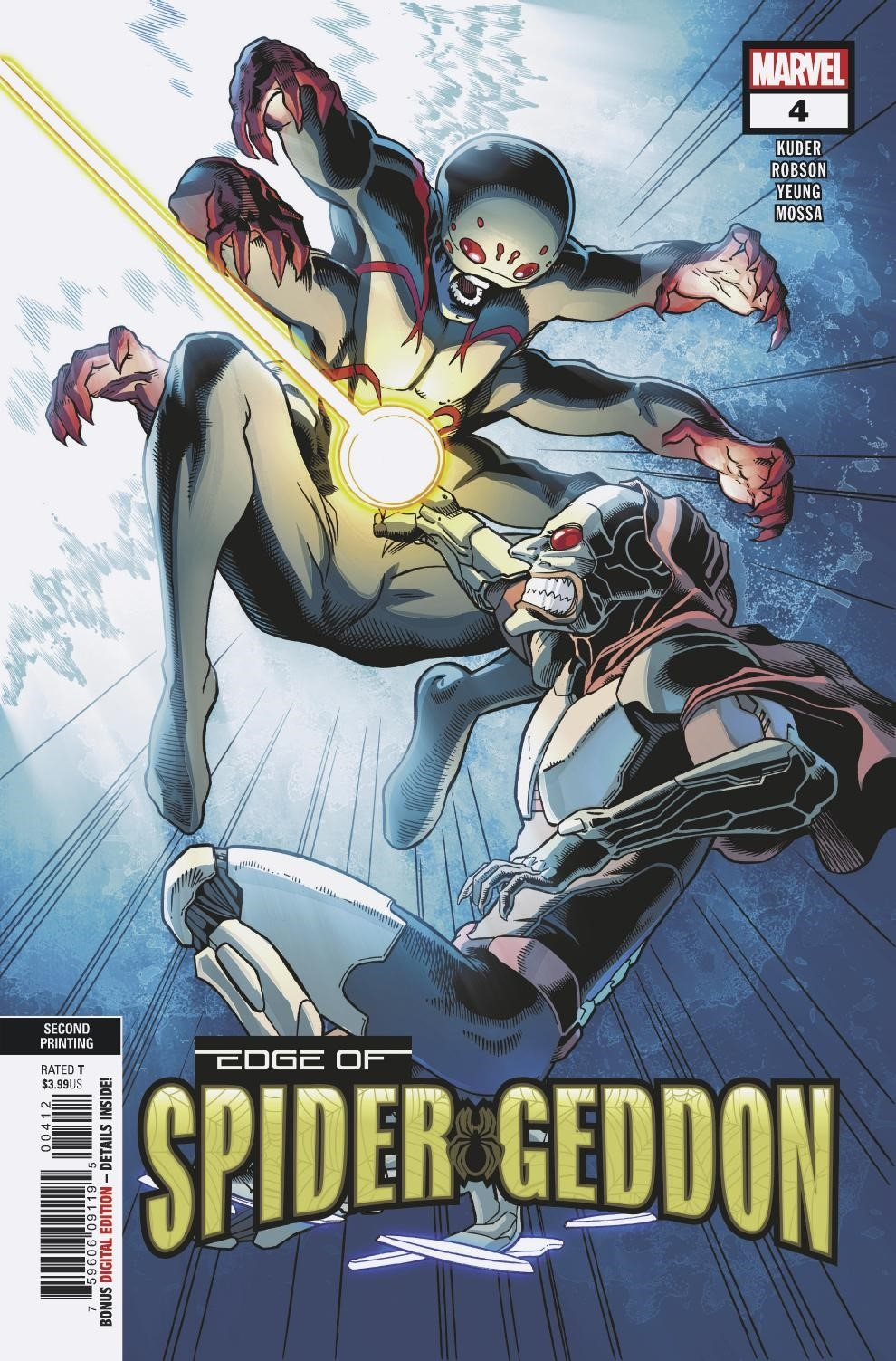 EDGE OF SPIDER-GEDDON #4 (OF 4) 2ND PTG KUDER VAR
