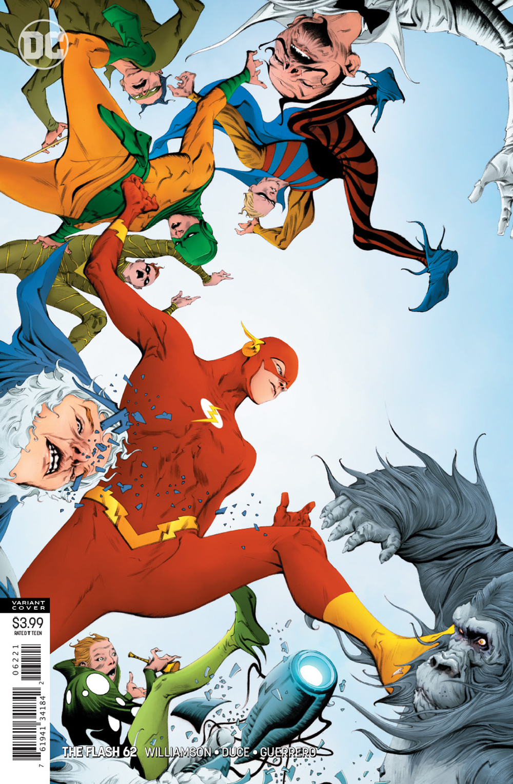 FLASH #62 VAR ED