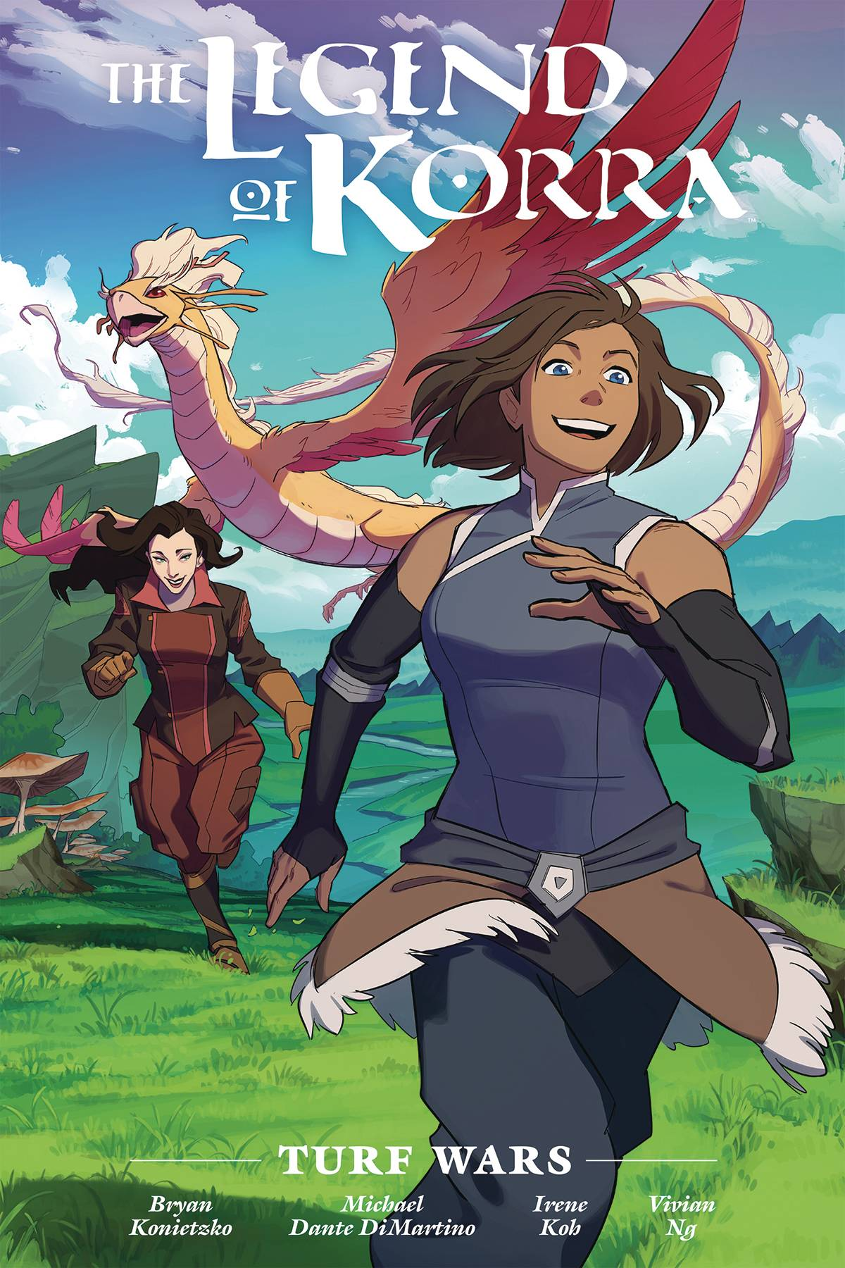 LEGEND OF KORRA TURF WARS LIBRARY ED HC